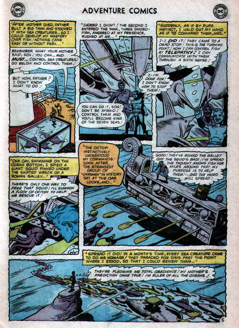 Read online Adventure Comics (1938) comic -  Issue #260 - 21