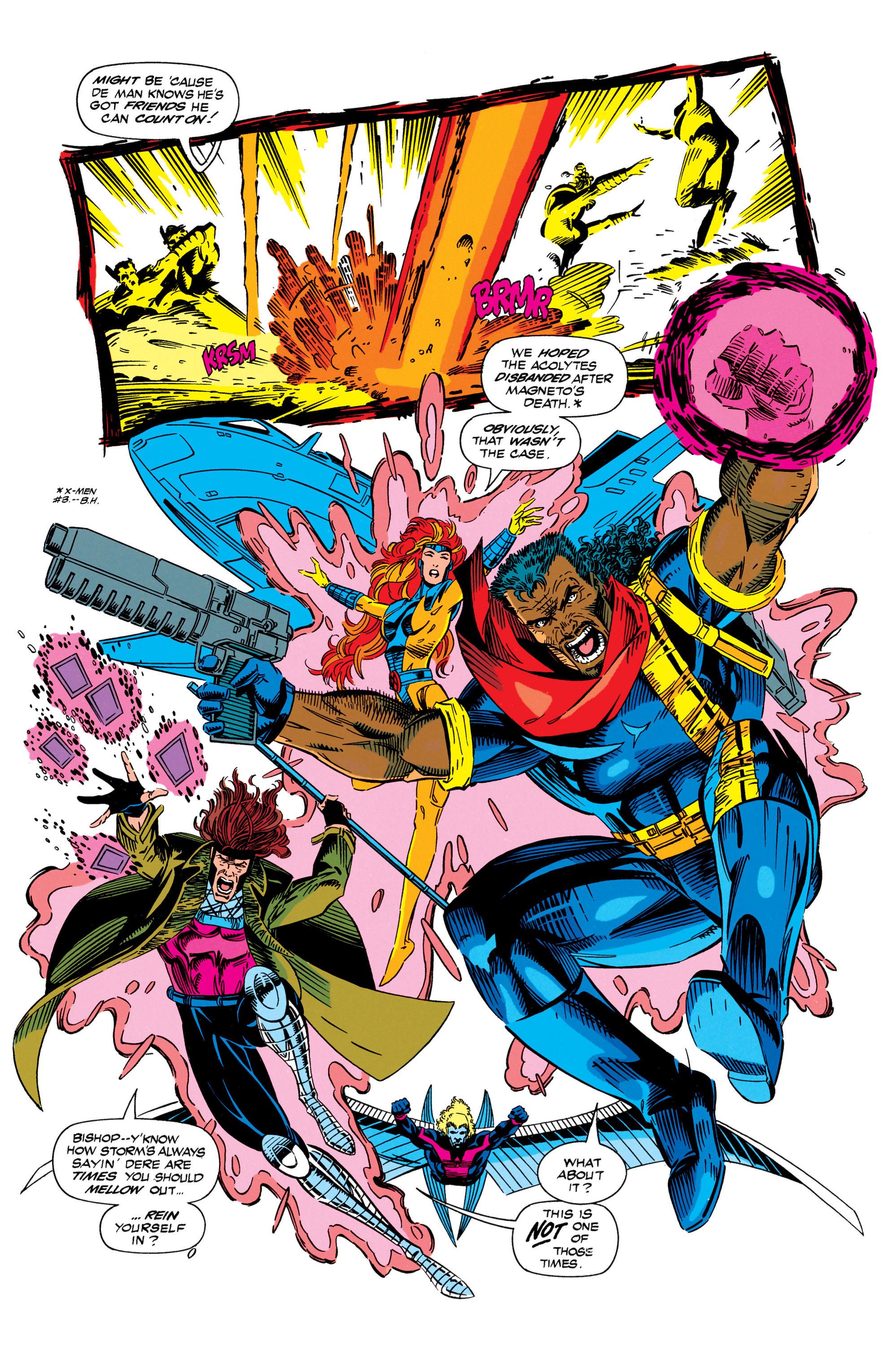 Read online Uncanny X-Men (1963) comic -  Issue #298 - 14