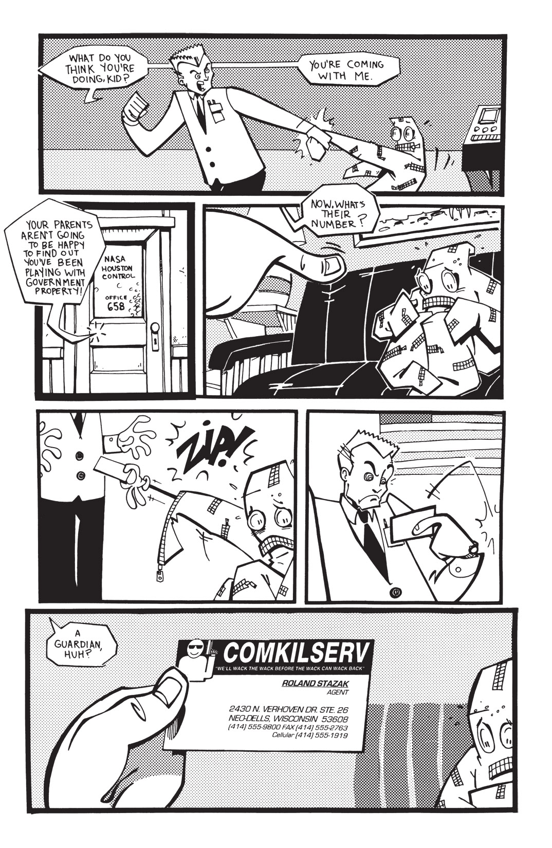 Read online Scud: The Disposable Assassin: The Whole Shebang comic -  Issue # TPB (Part 2) - 48