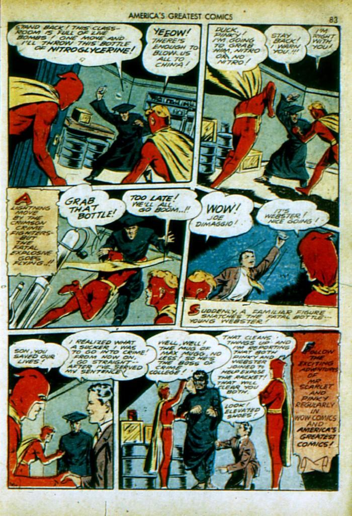 Read online America's Greatest Comics comic -  Issue #4 - 84