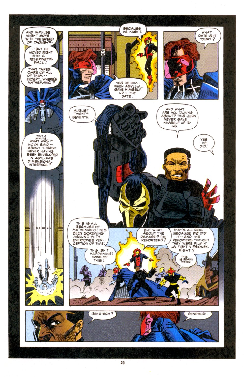 The New Warriors Issue #53 #57 - English 17
