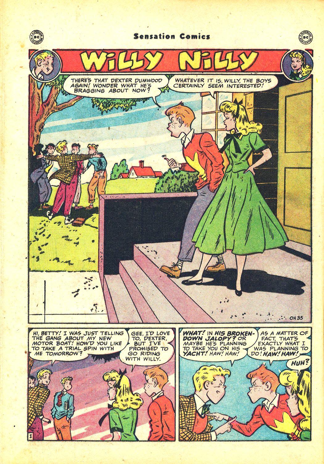 Read online Sensation (Mystery) Comics comic -  Issue #81 - 34