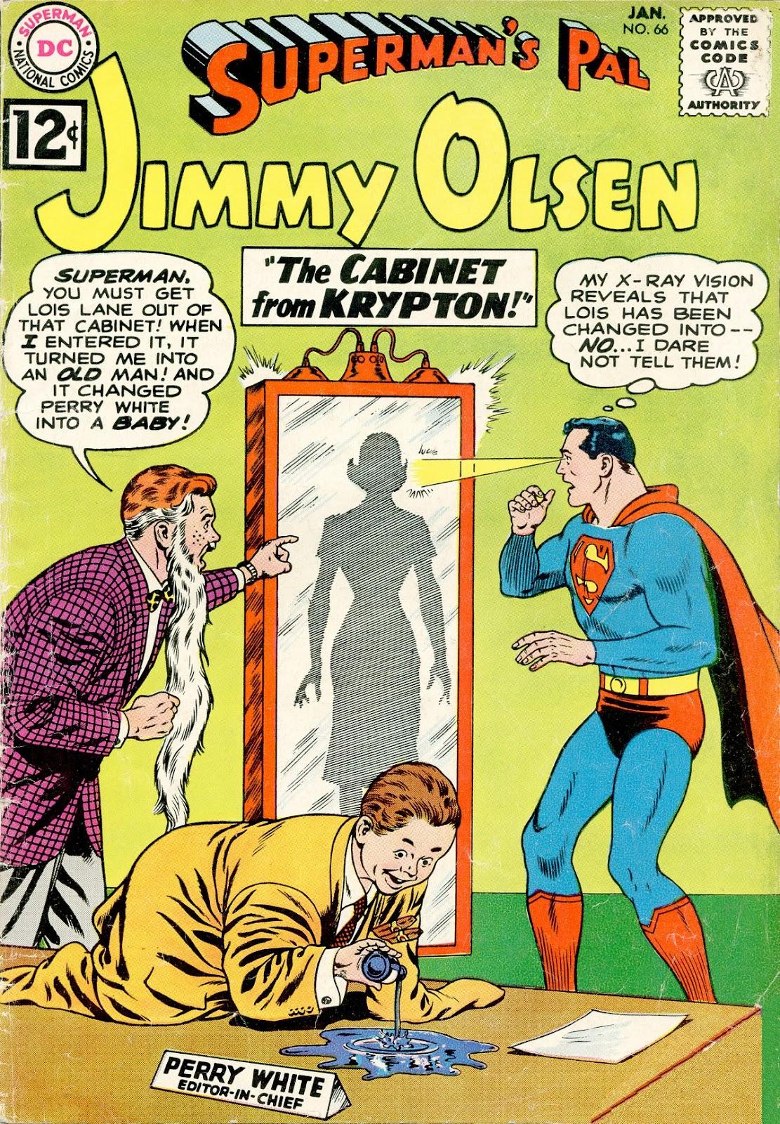 Supermans Pal Jimmy Olsen (1954) 66 Page 1