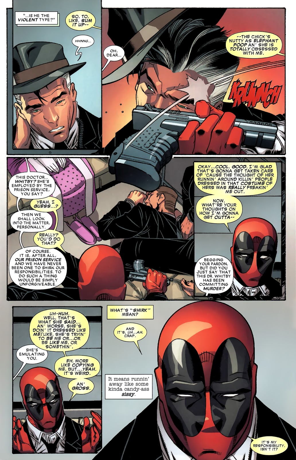 Read online Deadpool (2008) comic -  Issue #43 - 19