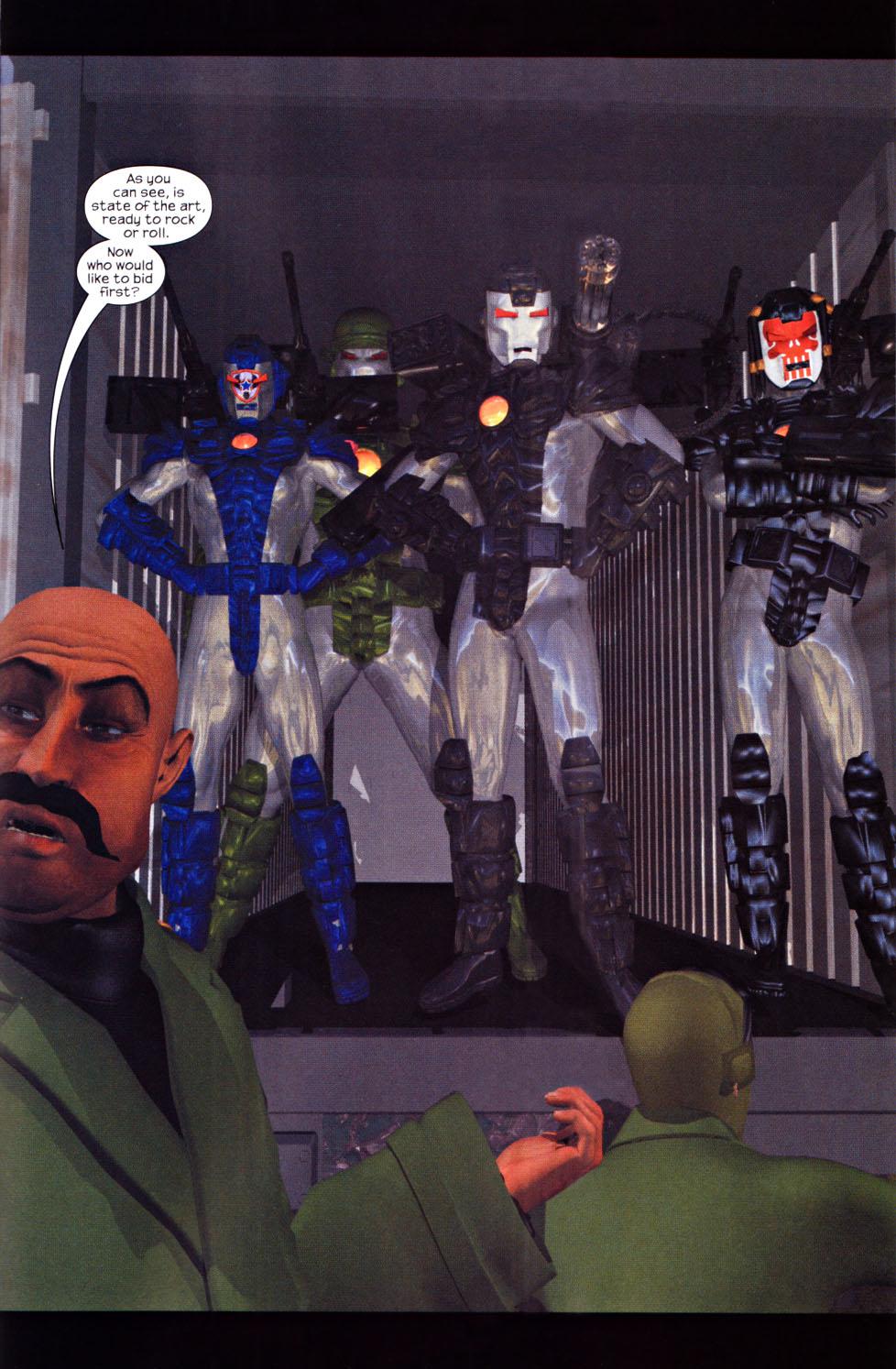 Read online U.S. War Machine 2.0 comic -  Issue #1 - 15