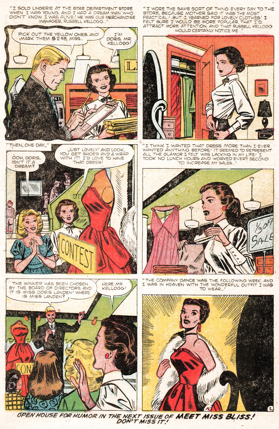 Love Romances (1949) issue 51 - Page 11