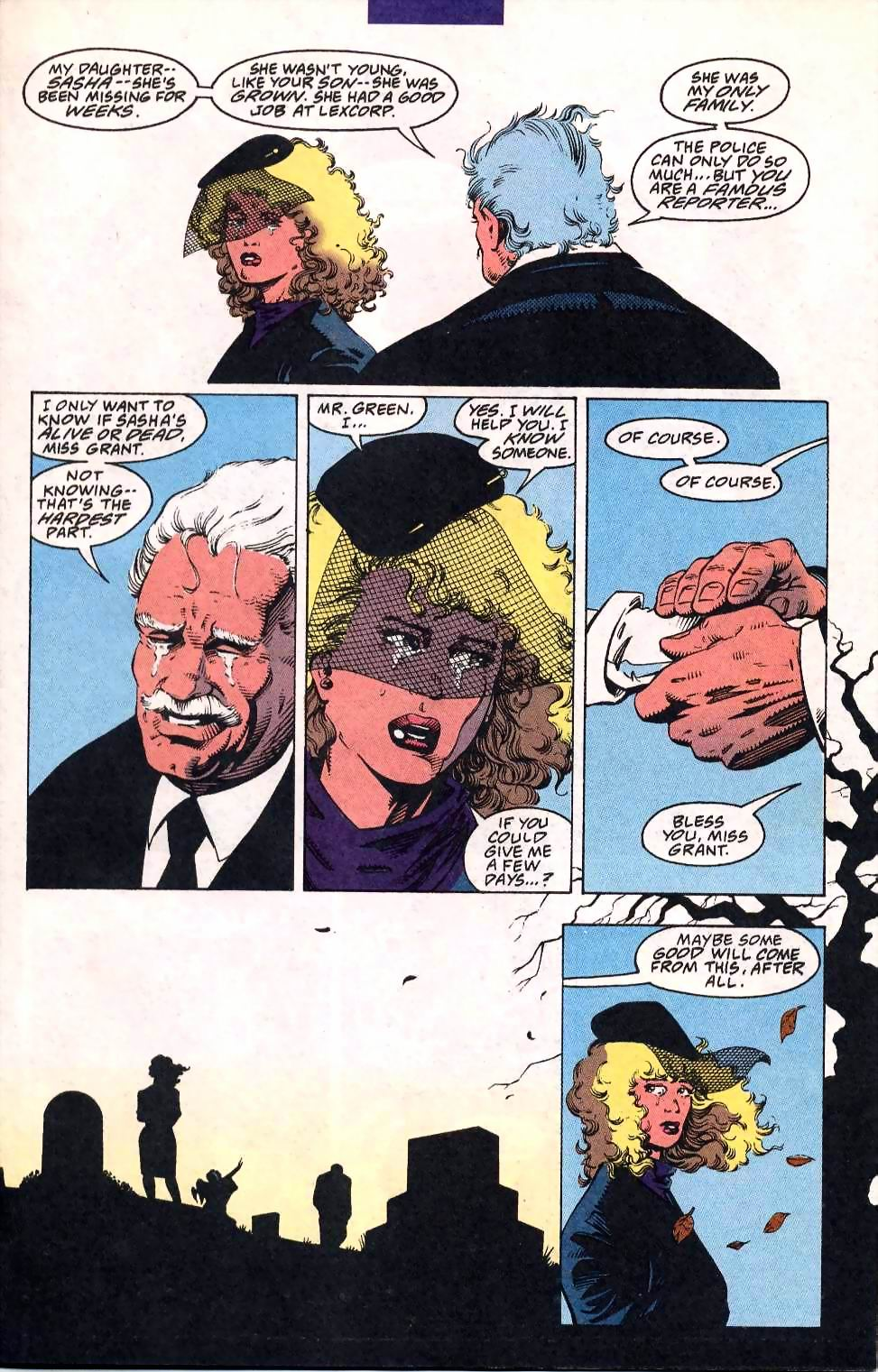 Read online Adventures of Superman (1987) comic -  Issue #508 - 9