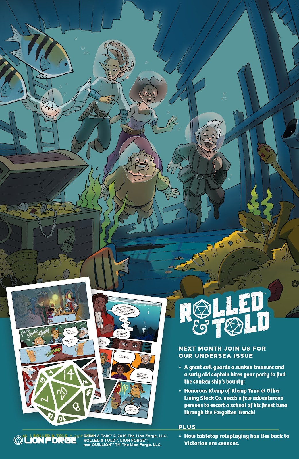 Read online Rolled & Told comic -  Issue #10 - 59