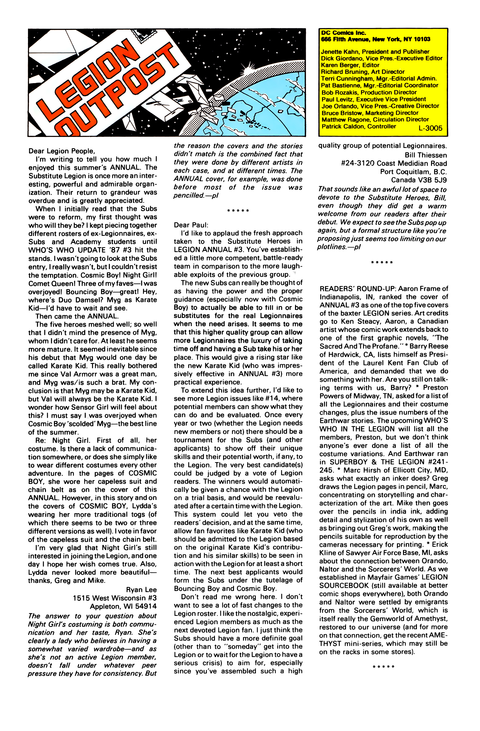 Legion of Super-Heroes (1984) 44 Page 28