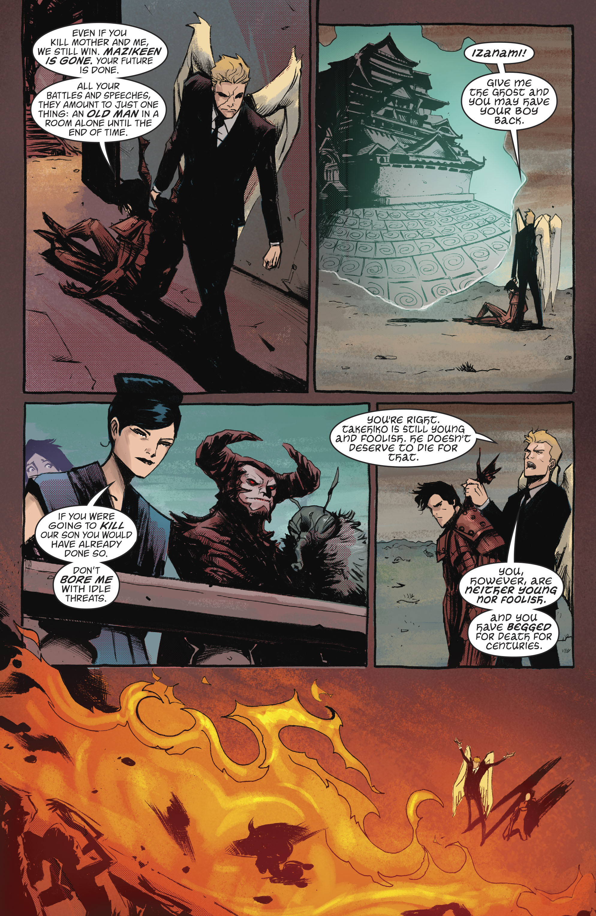 Read online Lucifer (2016) comic -  Issue #18 - 12