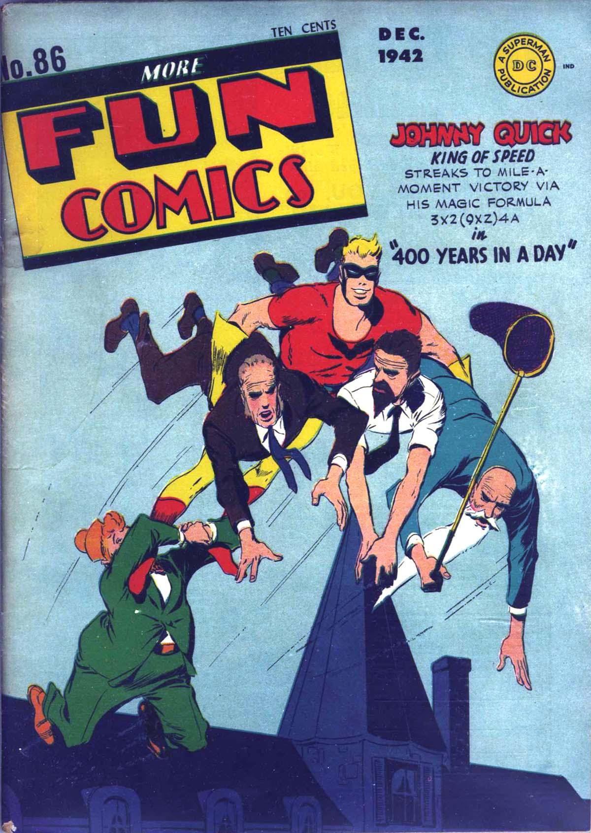 More Fun Comics 86 Page 1