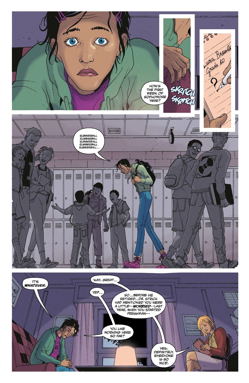 Read online She Could Fly comic -  Issue # _TPB - 10