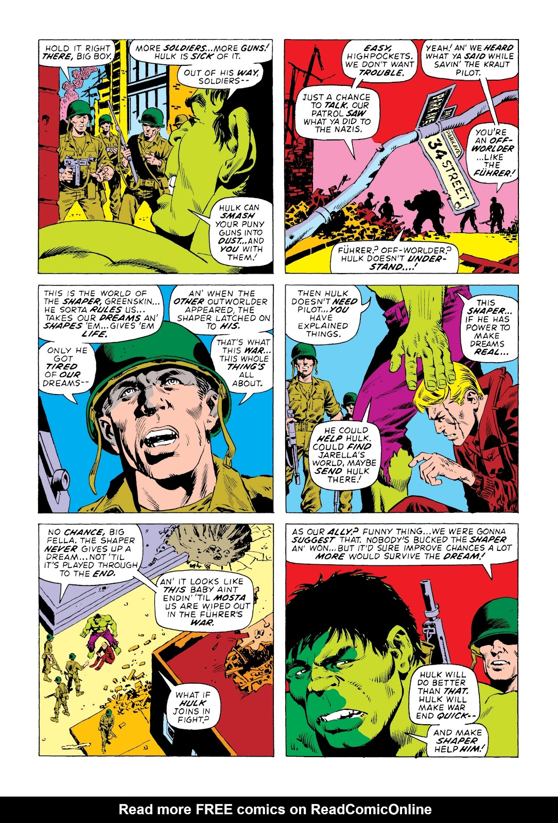 Read online Marvel Masterworks: The Incredible Hulk comic -  Issue # TPB 8 (Part 3) - 49
