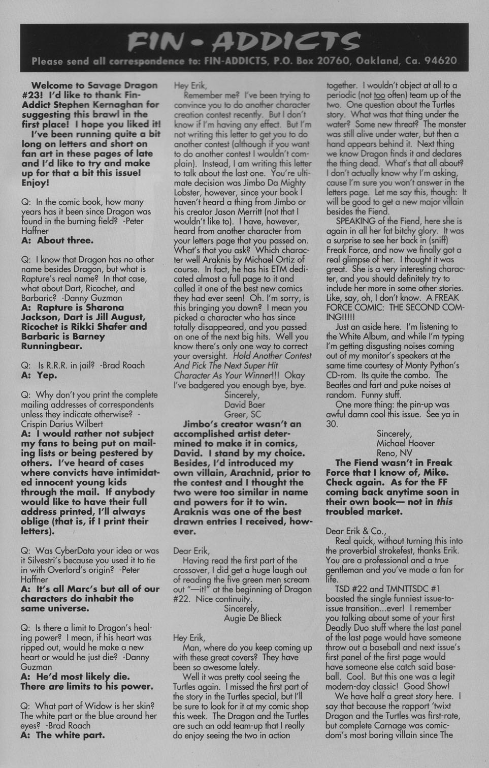 The Savage Dragon (1993) Issue #23 #26 - English 26