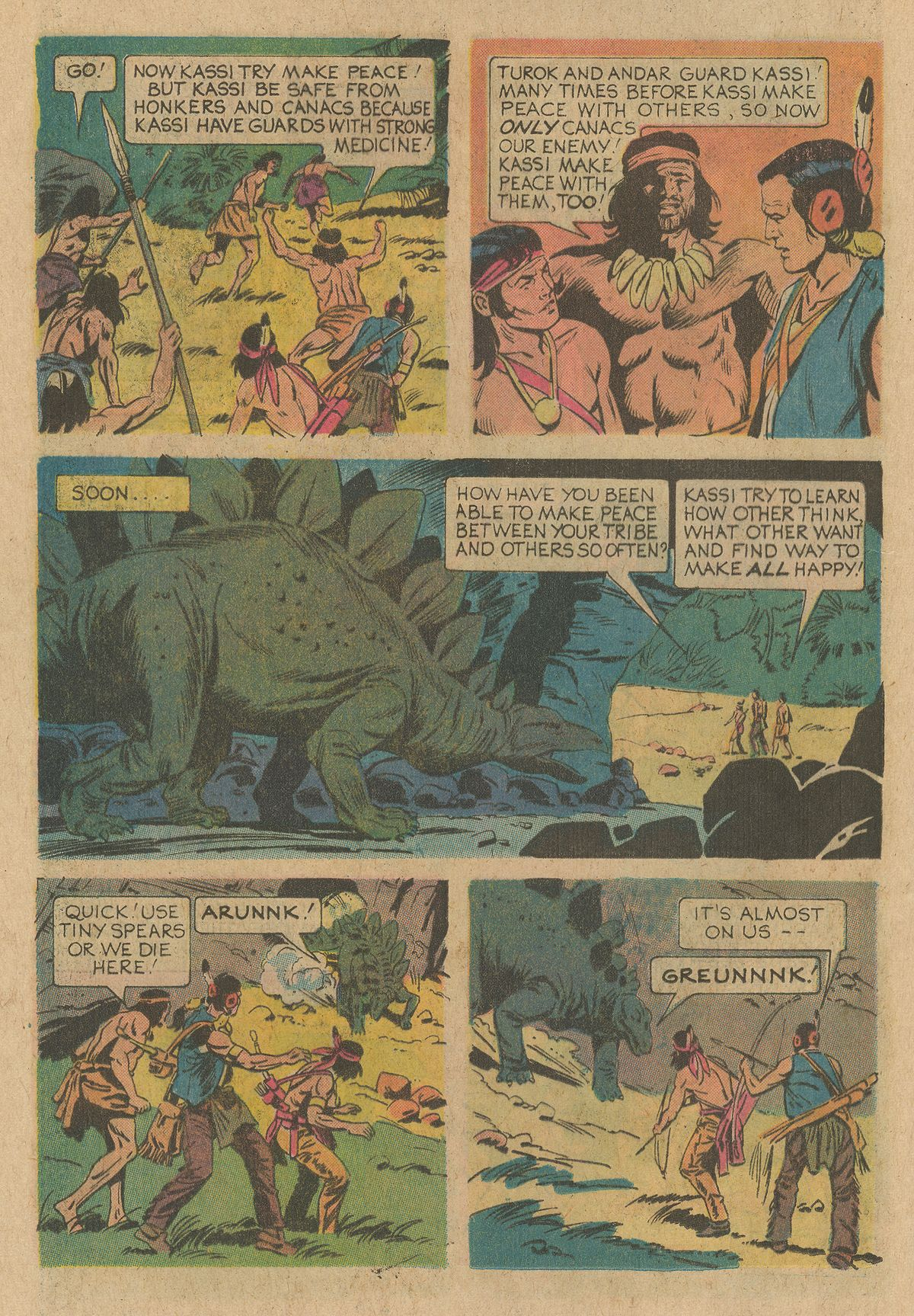 Read online Turok, Son of Stone comic -  Issue #94 - 12