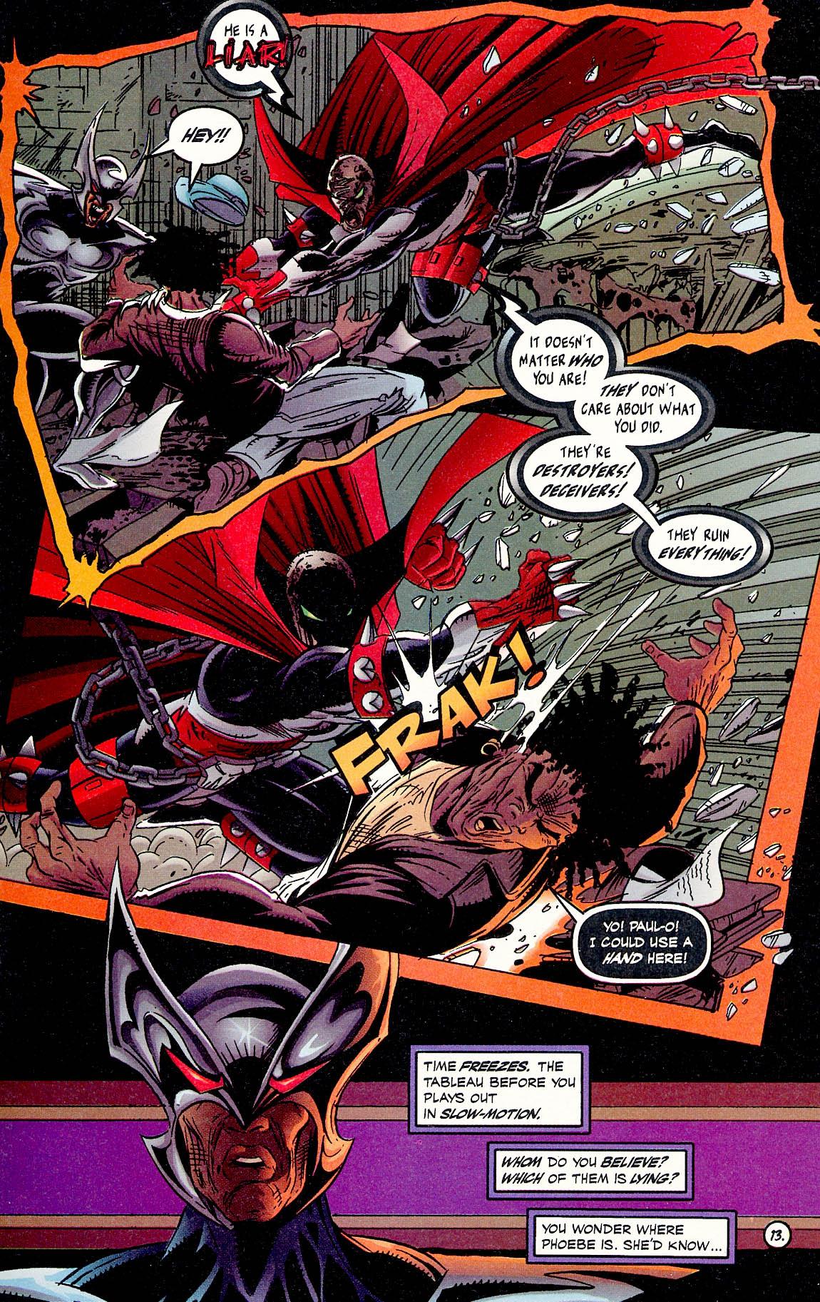 Read online ShadowHawk comic -  Issue #17 - 13