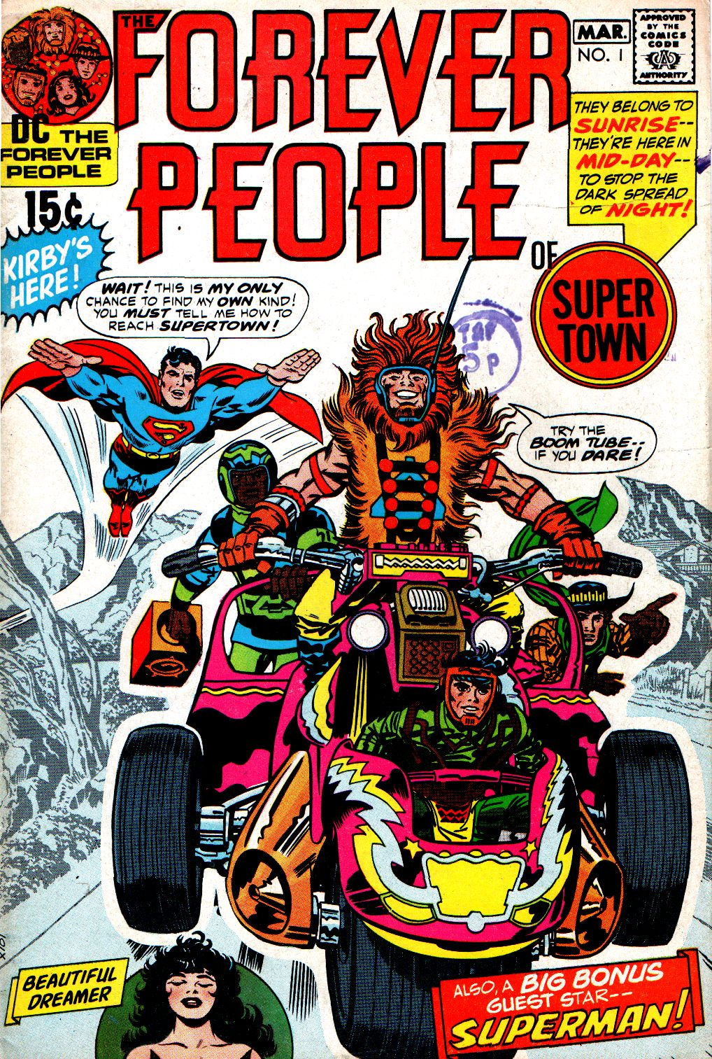 Forever People (1971) issue 1 - Page 1