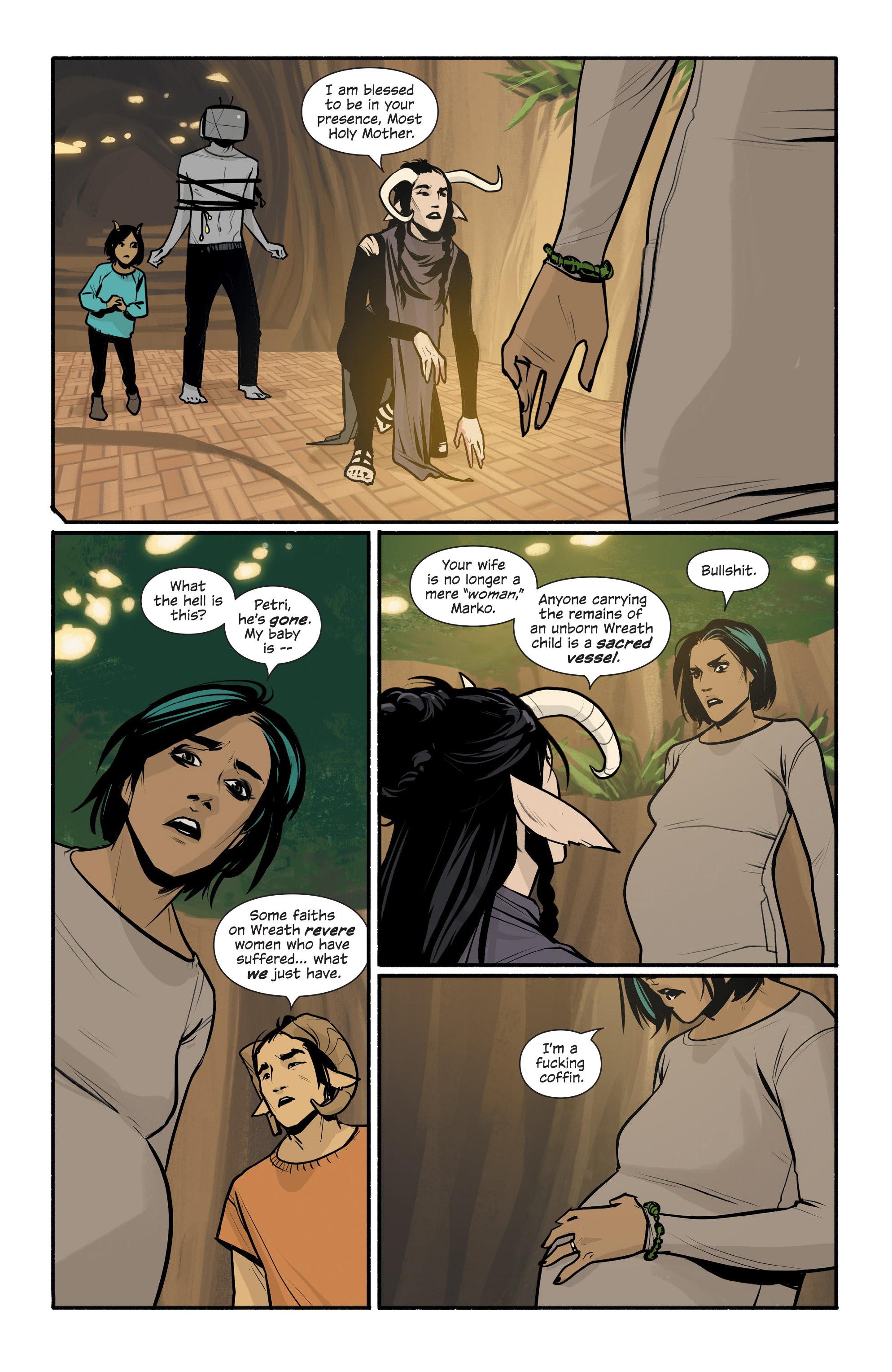 Read online Saga comic -  Issue #43 - 12