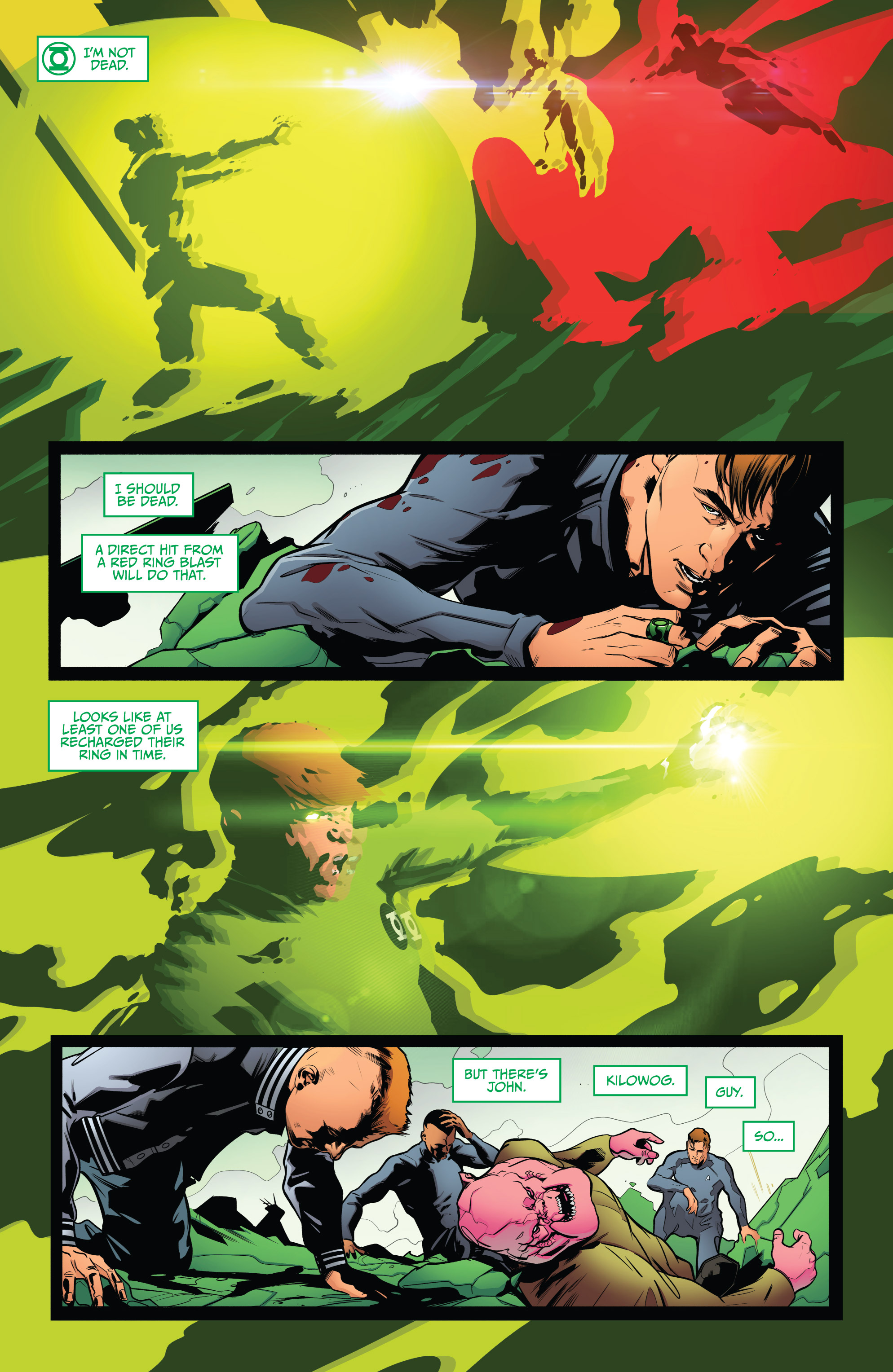 Read online Star Trek/Green Lantern (2016) comic -  Issue #6 - 3
