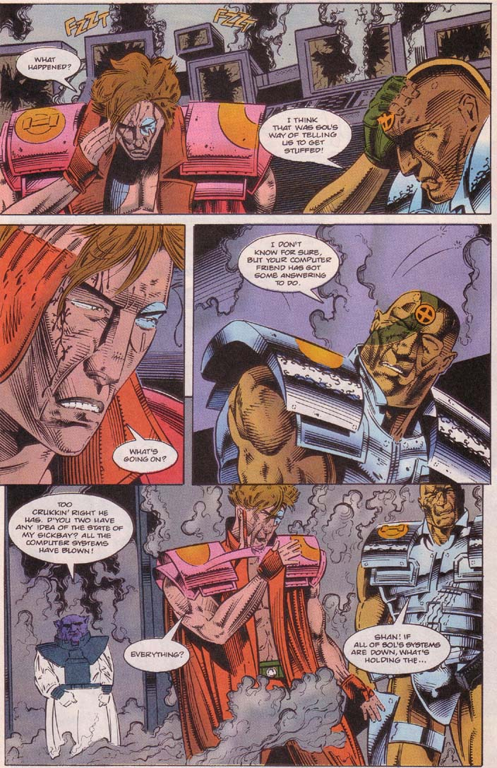Read online Cyberspace 3000 comic -  Issue #5 - 4