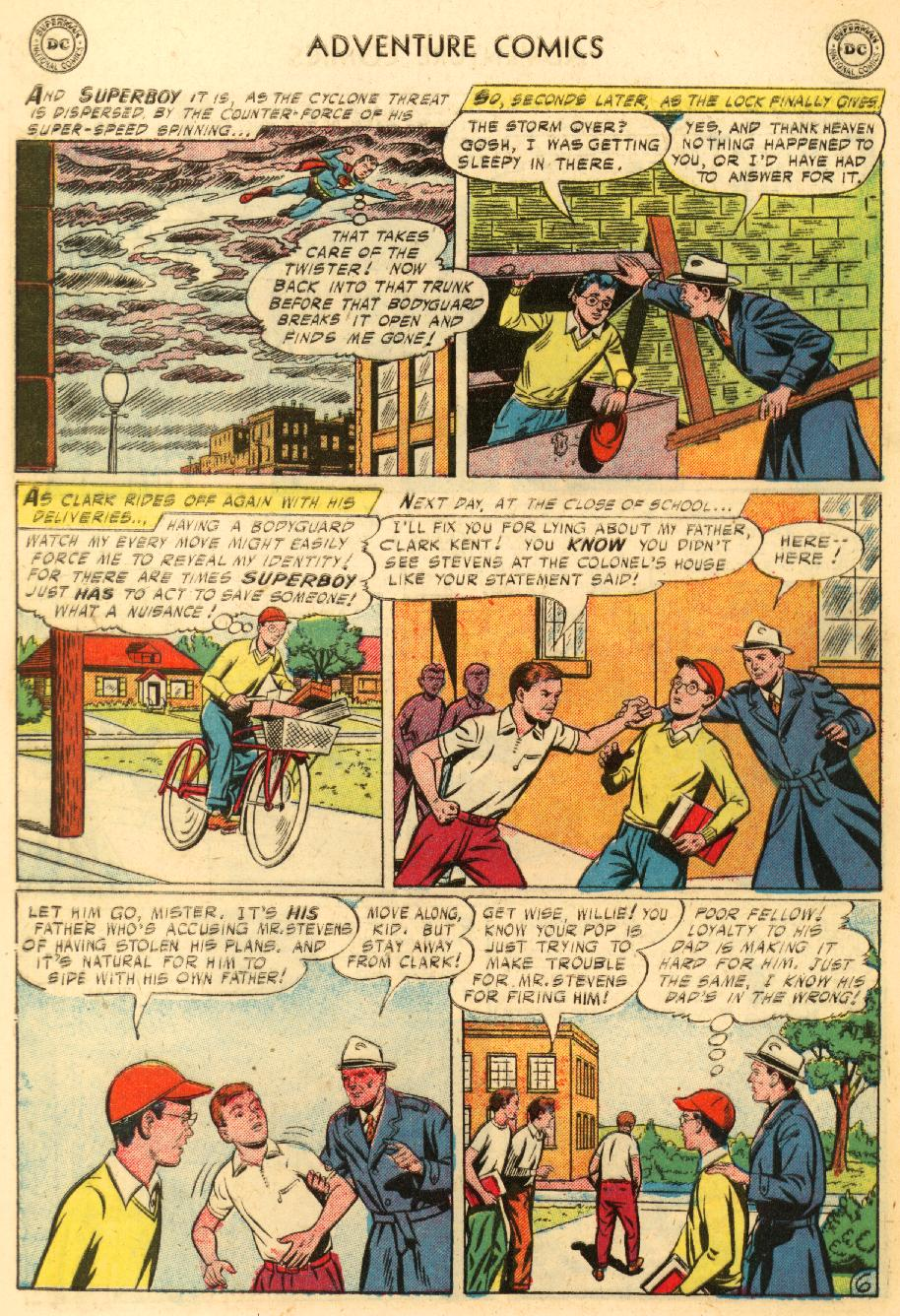 Read online Adventure Comics (1938) comic -  Issue #228 - 8