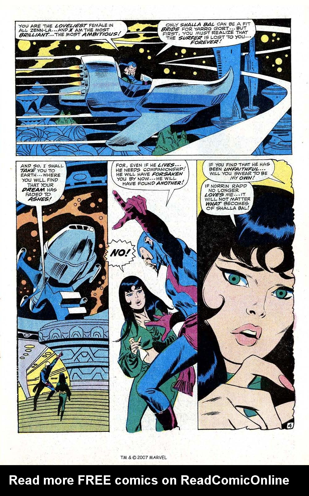 Read online Silver Surfer (1968) comic -  Issue #10 - 7
