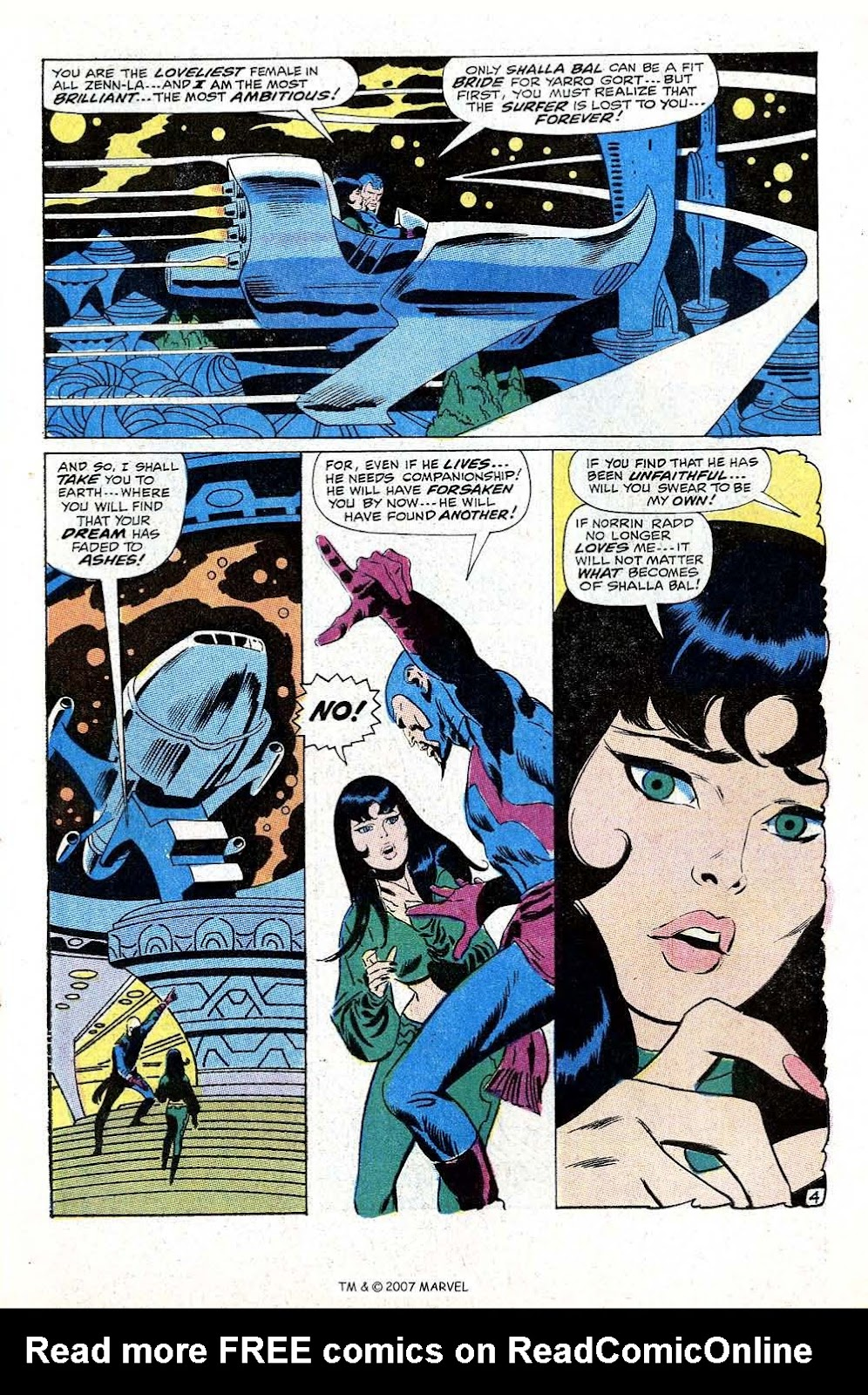 Silver Surfer (1968) Issue #10 #10 - English 7