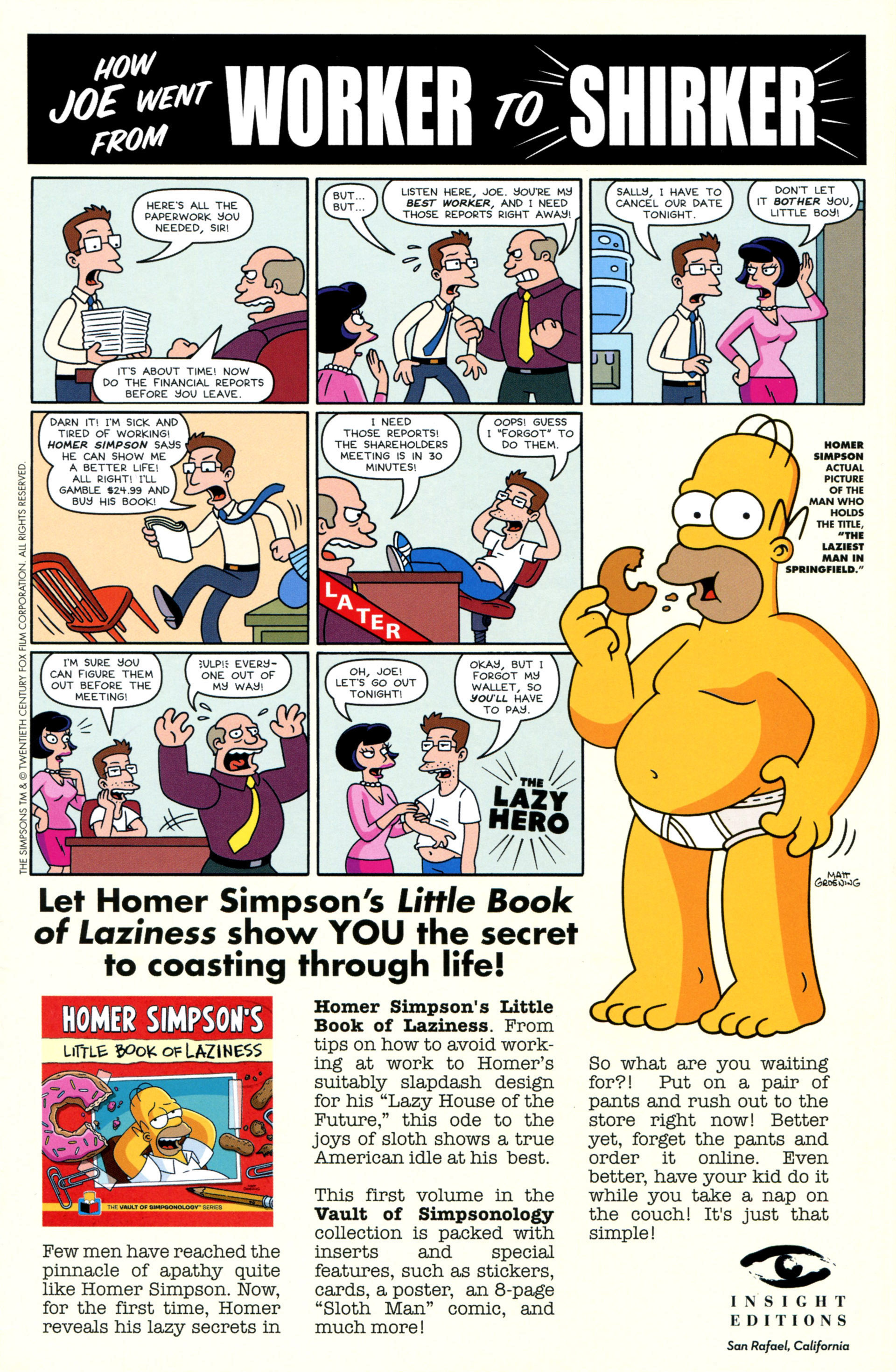 Read online Simpsons Comics comic -  Issue #208 - 32