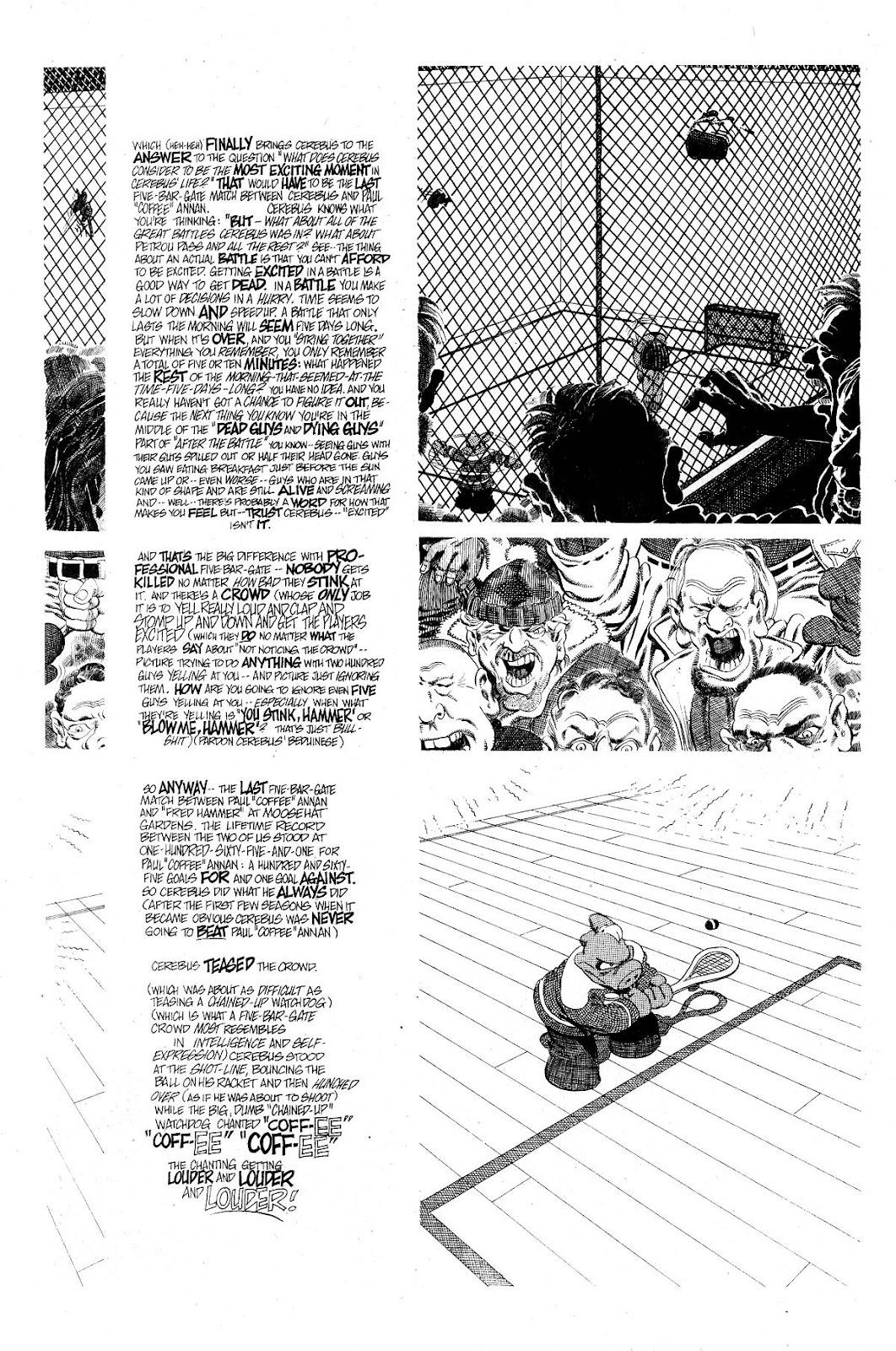 Cerebus Issue #267 #266 - English 16