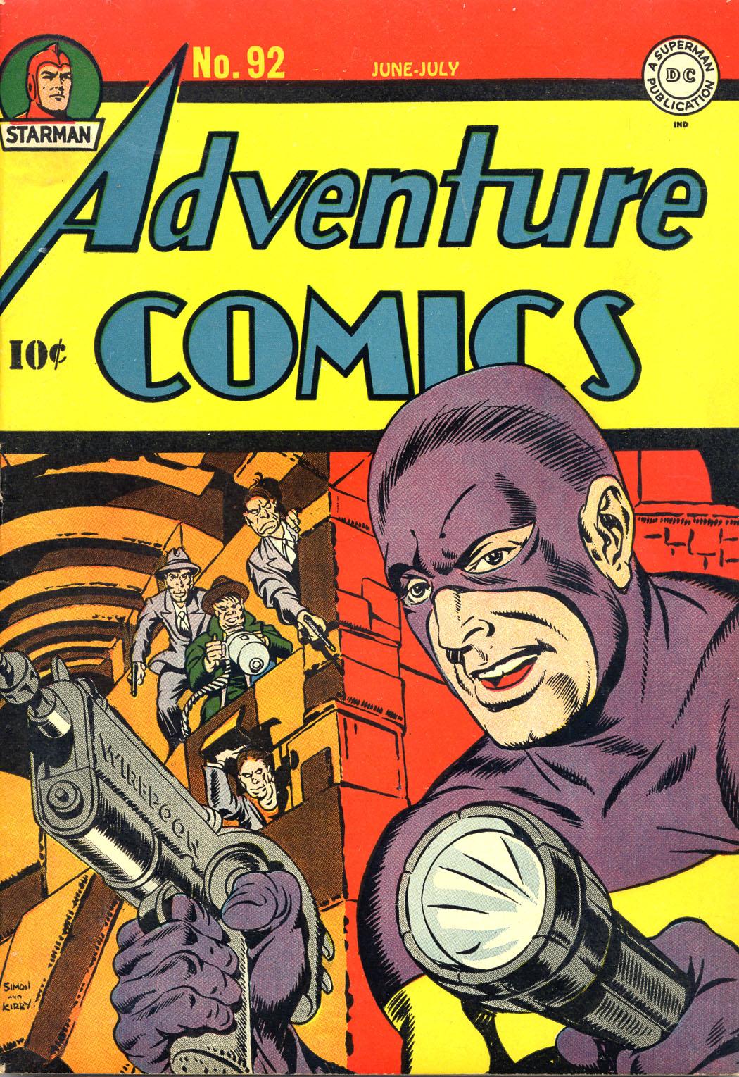Read online Adventure Comics (1938) comic -  Issue #92 - 1