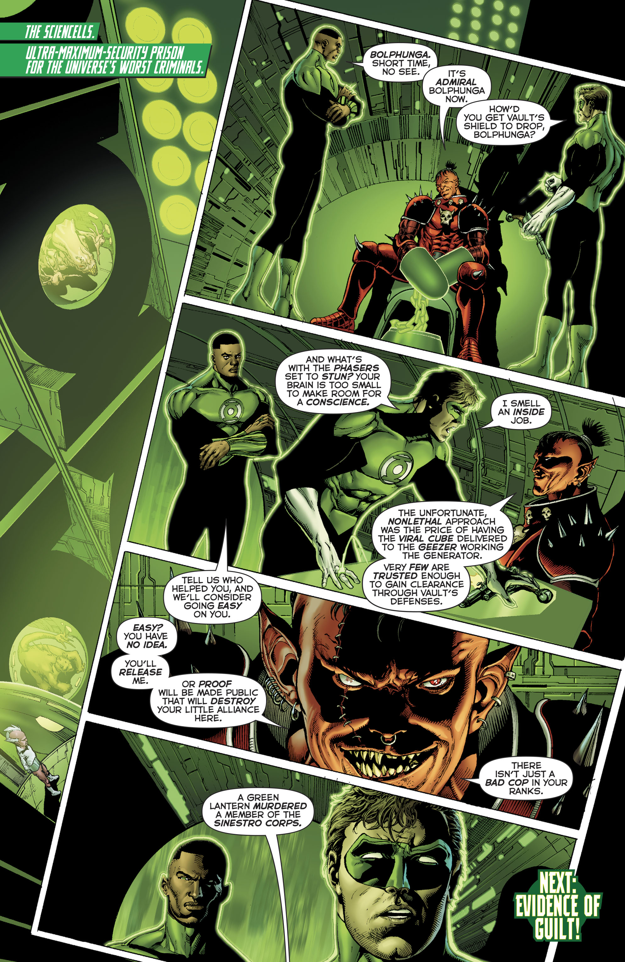 Read online Hal Jordan And The Green Lantern Corps comic -  Issue #22 - 21