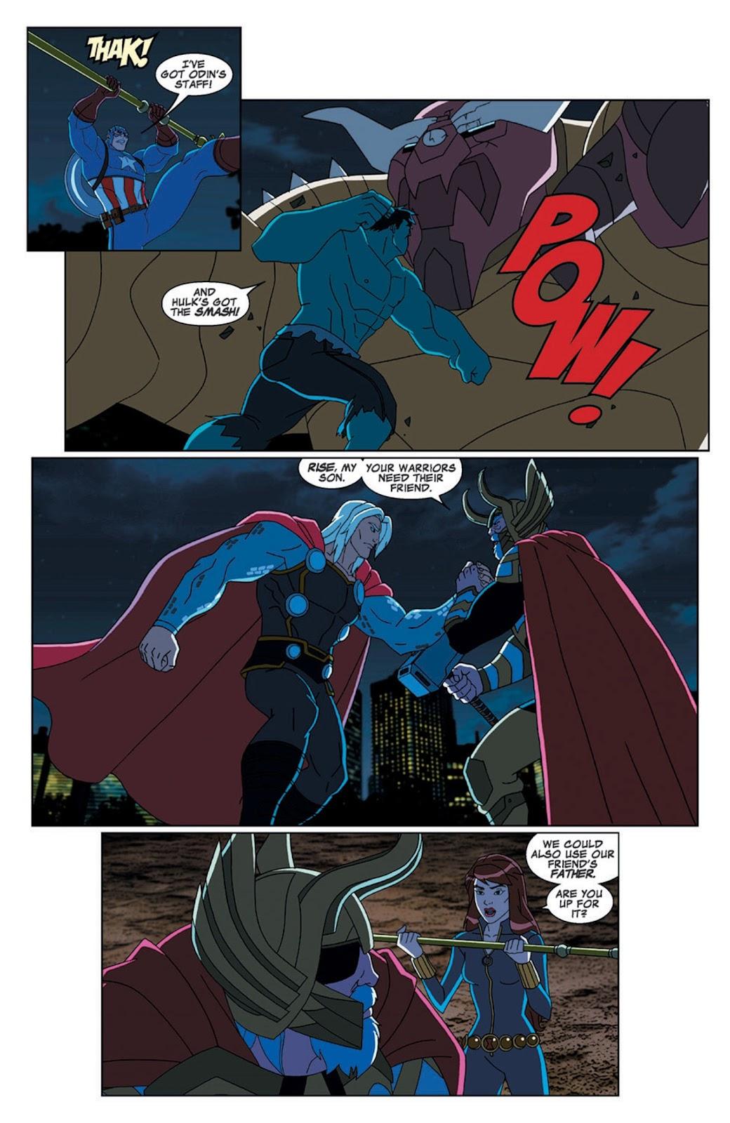 Read online Marvel Universe Avengers Assemble Season 2 comic -  Issue #7 - 27