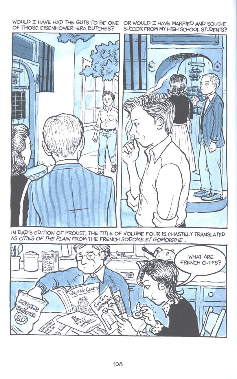 Read online Fun Home: A Family Tragicomic comic -  Issue # TPB - 114