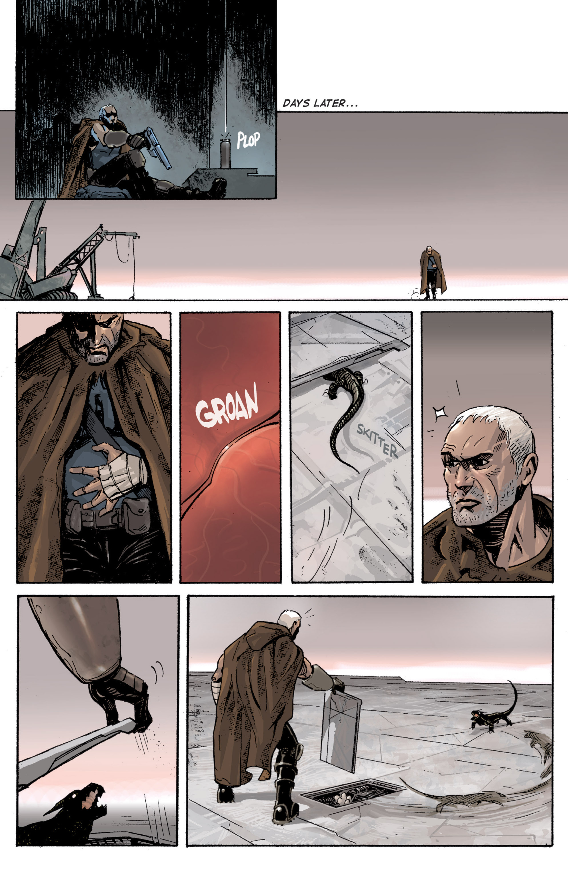 Read online Planetoid comic -  Issue # TPB - 54