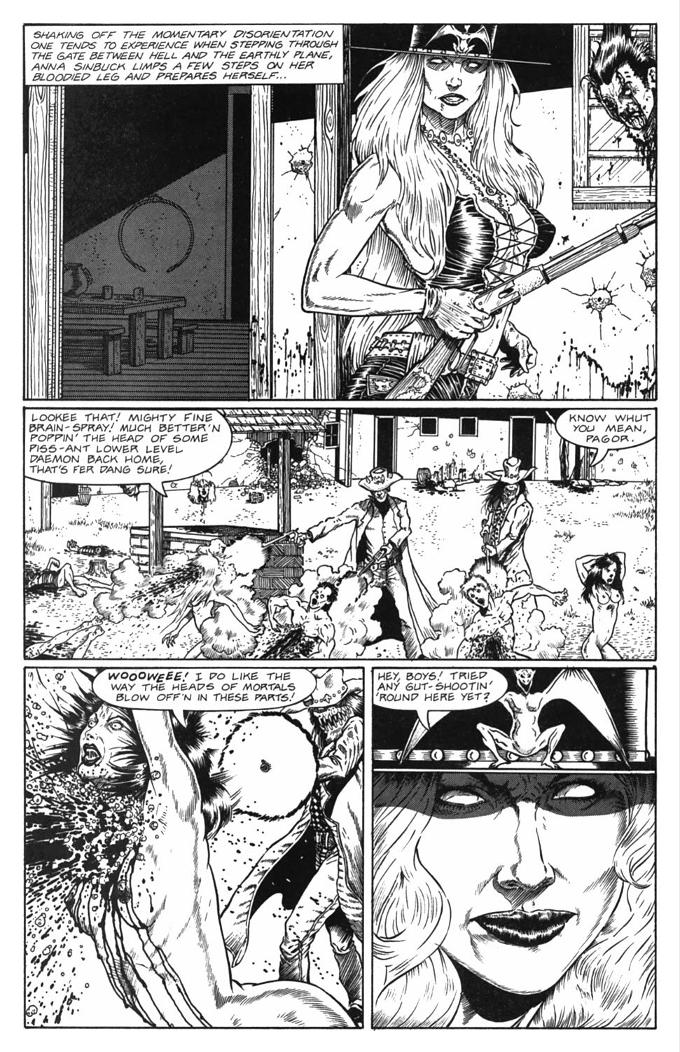 Read online Gunfighters in Hell comic -  Issue #5 - 8