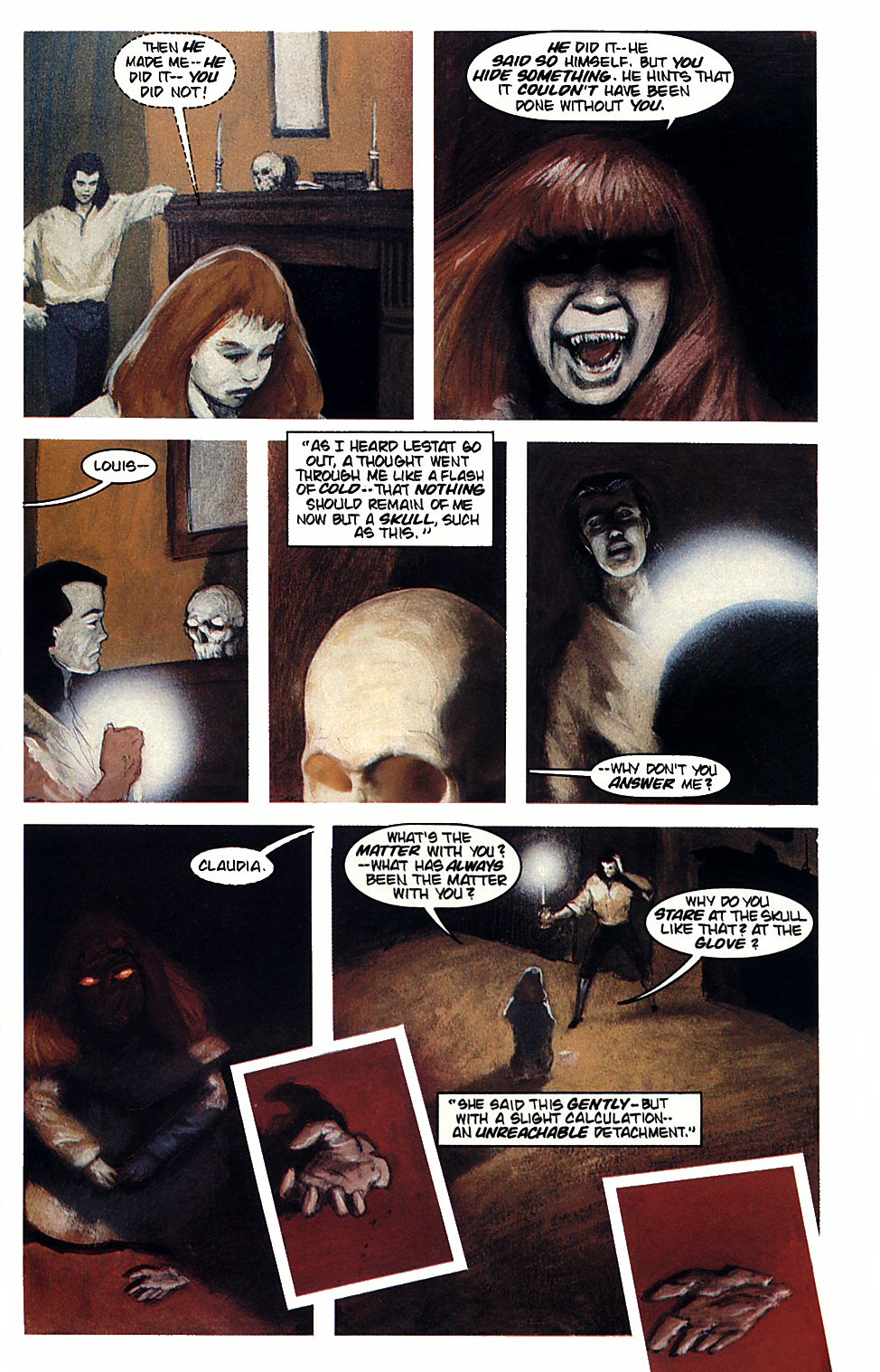 Read online Anne Rice's Interview with the Vampire comic -  Issue #4 - 24