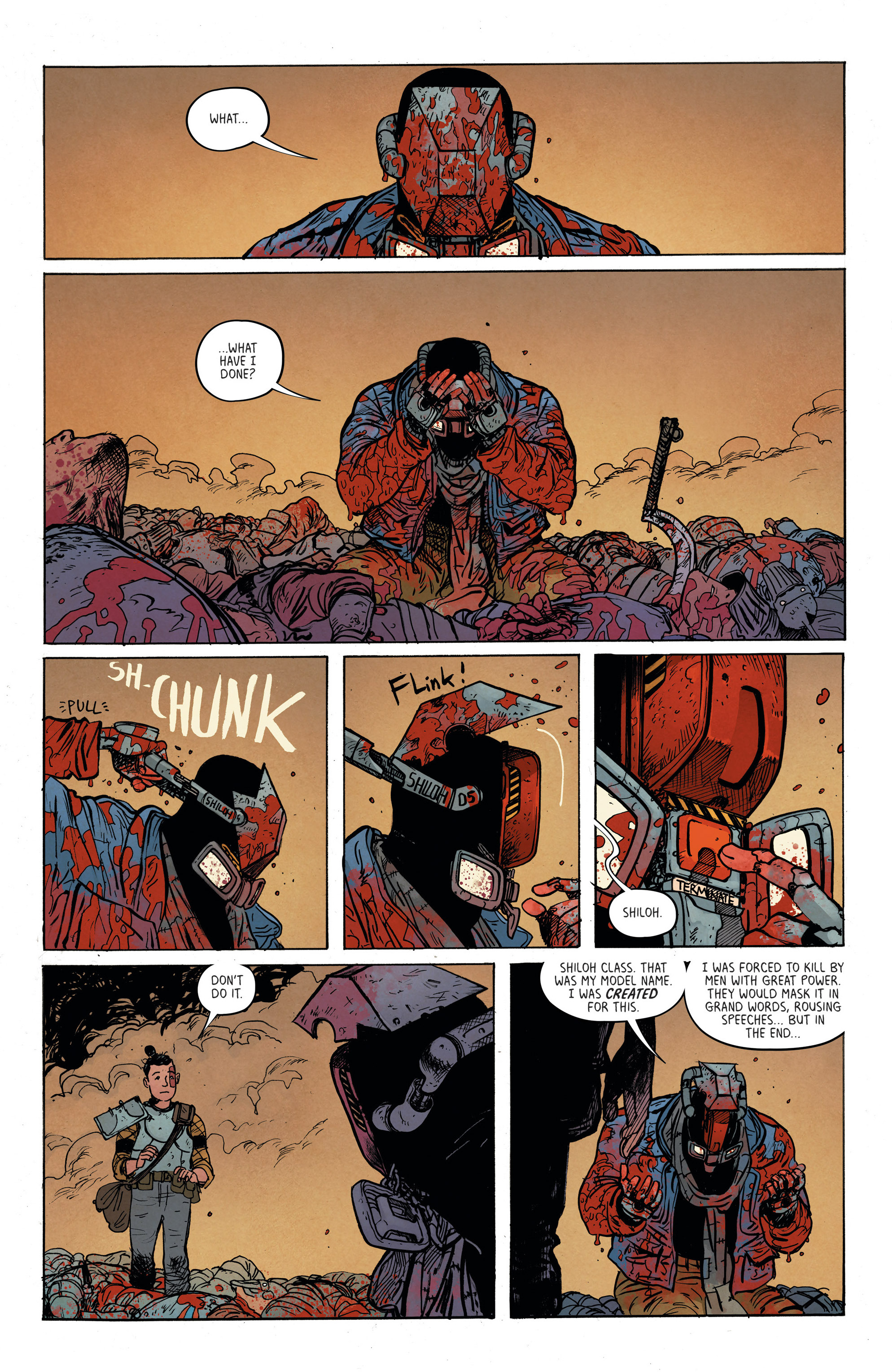 Read online Extremity comic -  Issue #3 - 20