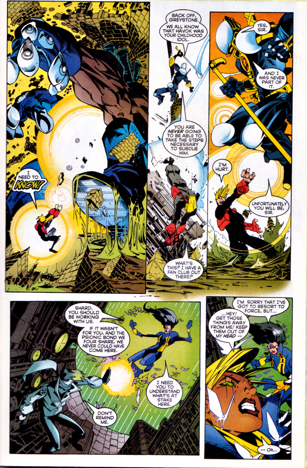 Read online X-Factor (1986) comic -  Issue #144 - 9