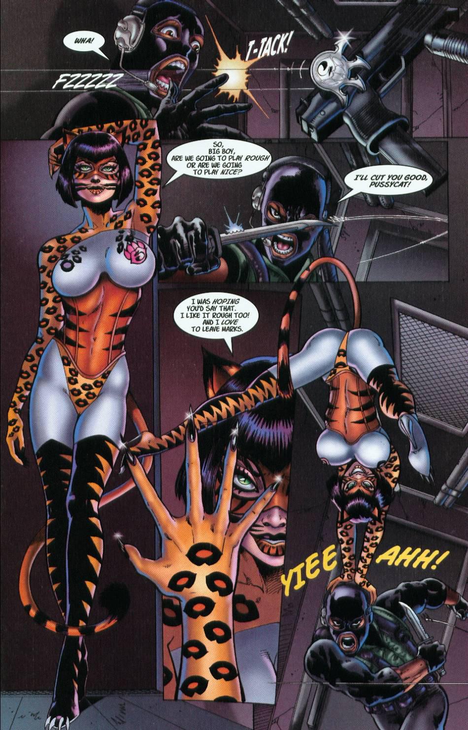 Read online 3 Little Kittens: Purrr-fect Weapons comic -  Issue #1 - 9