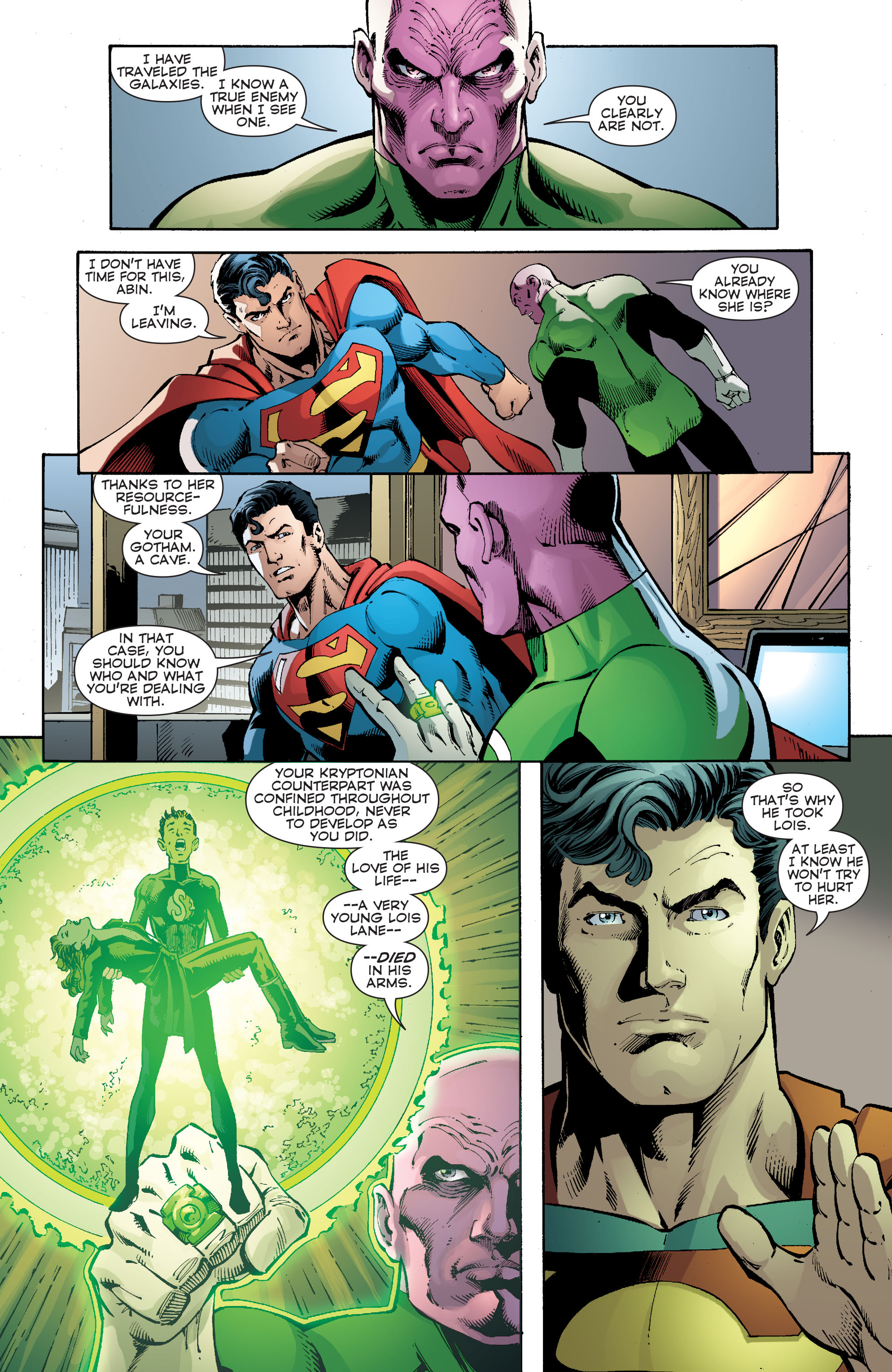 Read online Convergence Superman comic -  Issue #2 - 15