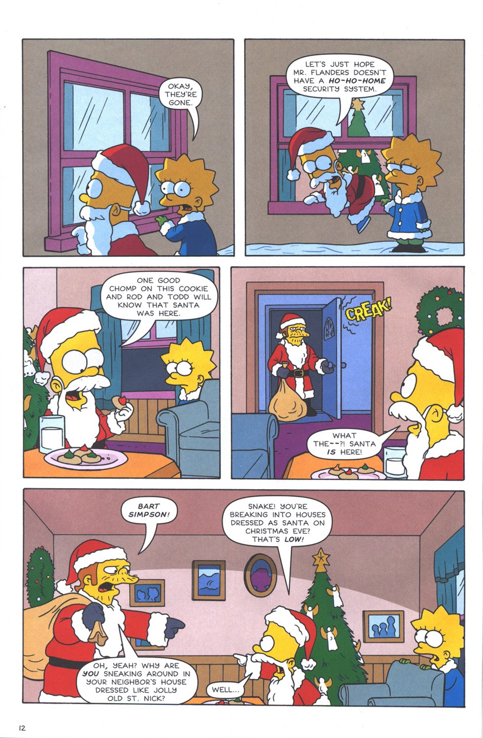 Read online The Simpsons Winter Wingding comic -  Issue #3 - 14