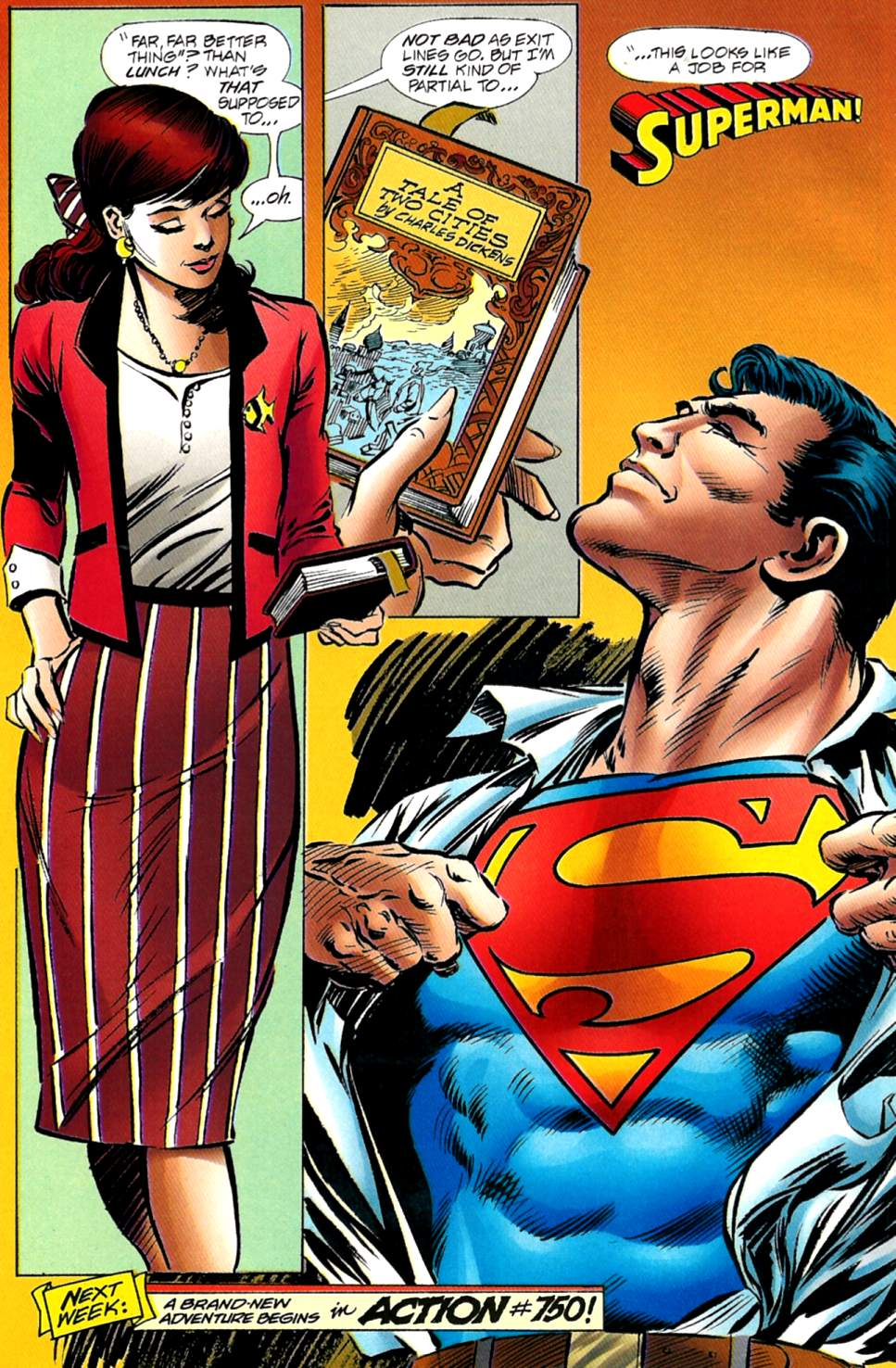 Read online Adventures of Superman (1987) comic -  Issue #563 - 22