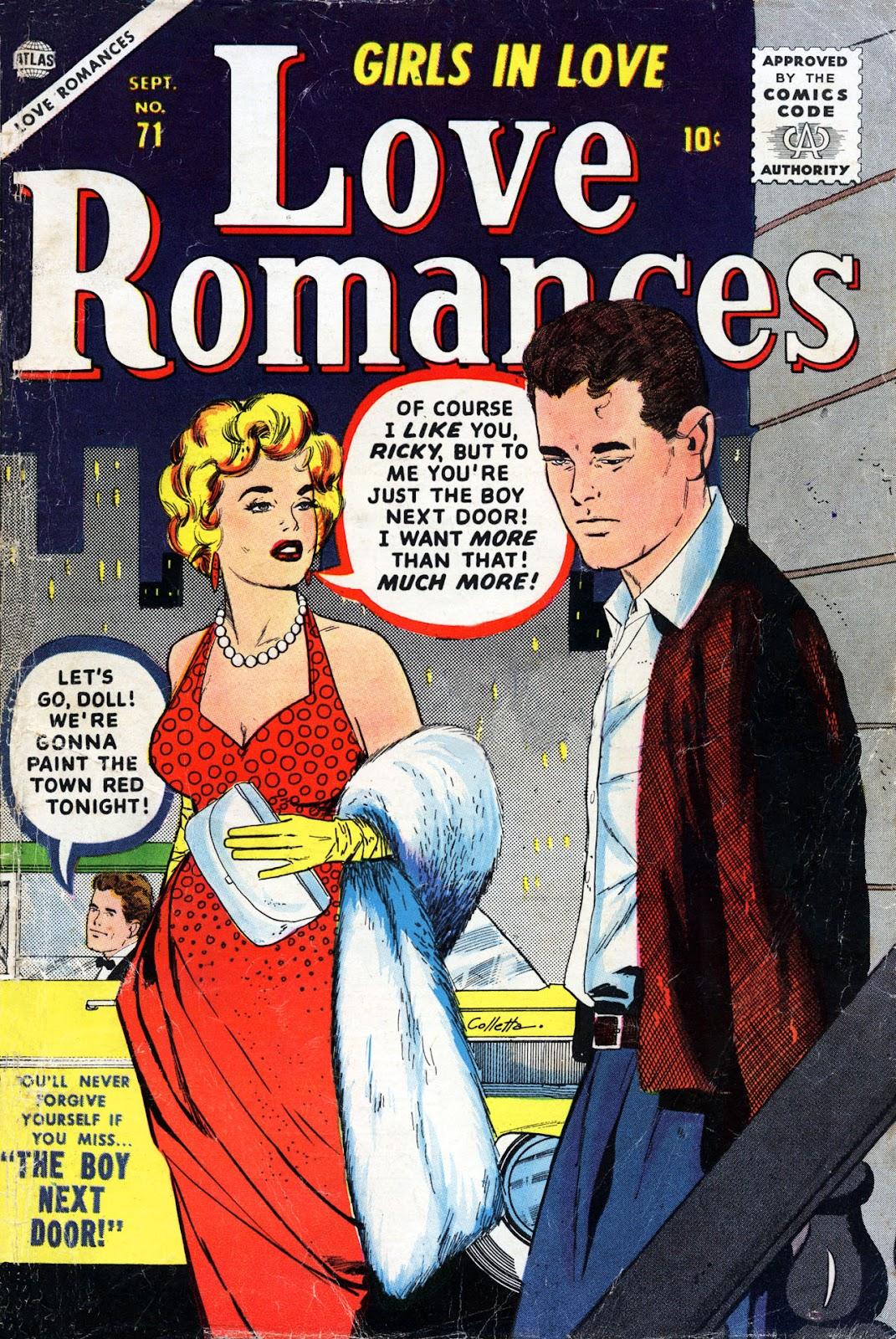 Love Romances (1949) issue 71 - Page 1
