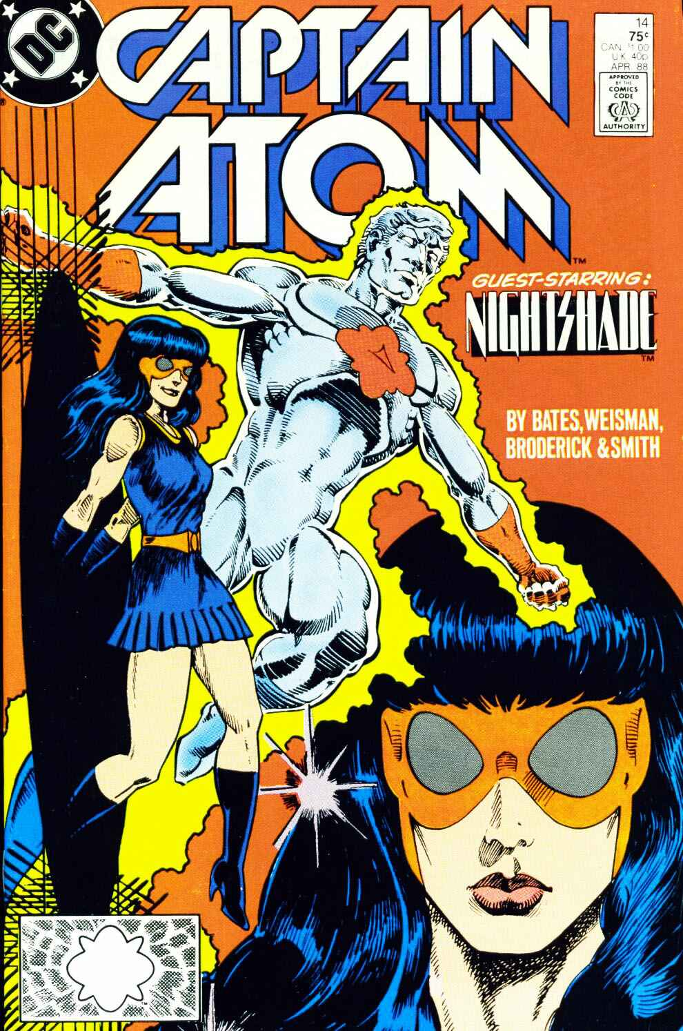 Captain Atom (1987) 14 Page 1