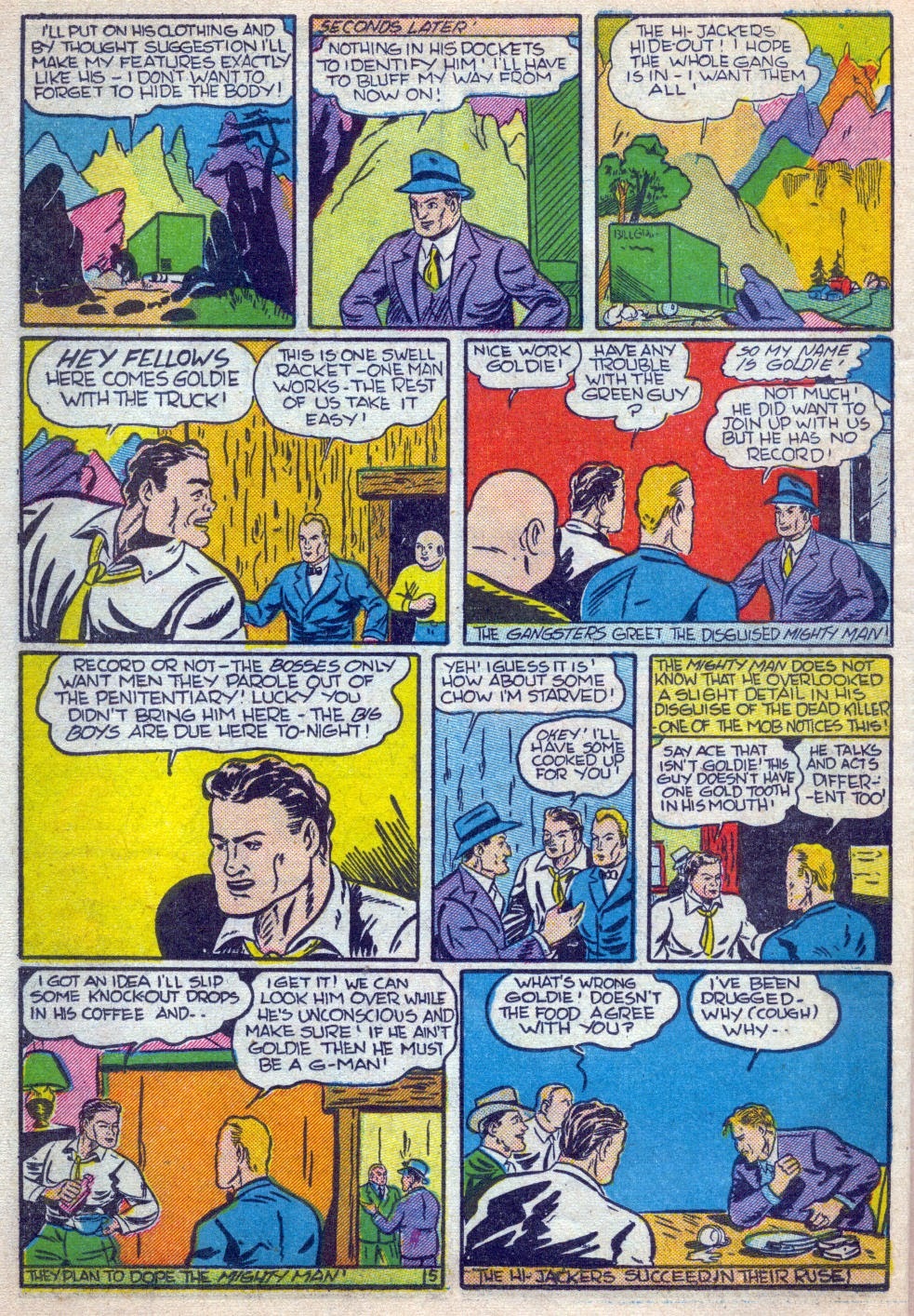 Read online Amazing Man Comics comic -  Issue #15 - 49