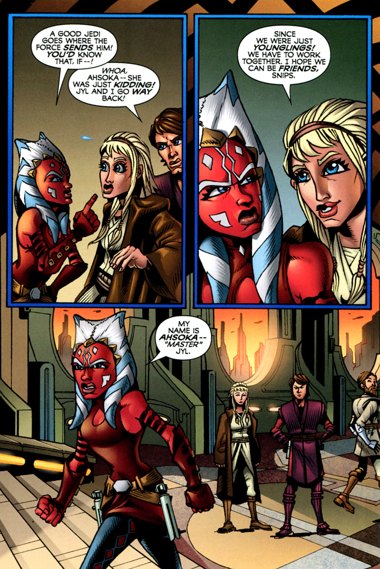 Read online Star Wars: The Clone Wars - The Starcrusher Trap comic -  Issue # Full - 25
