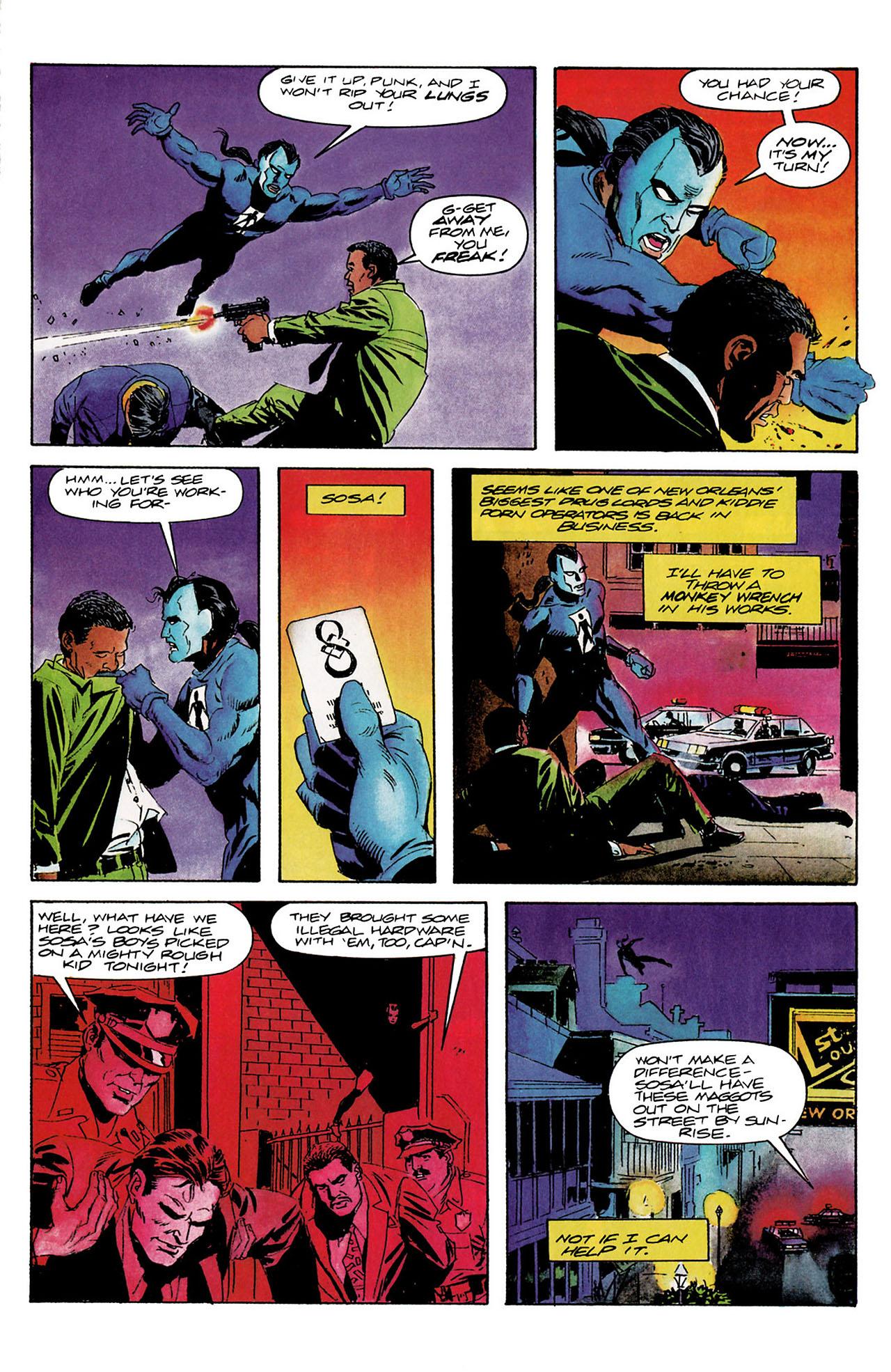 Read online Shadowman (1992) comic -  Issue #9 - 4
