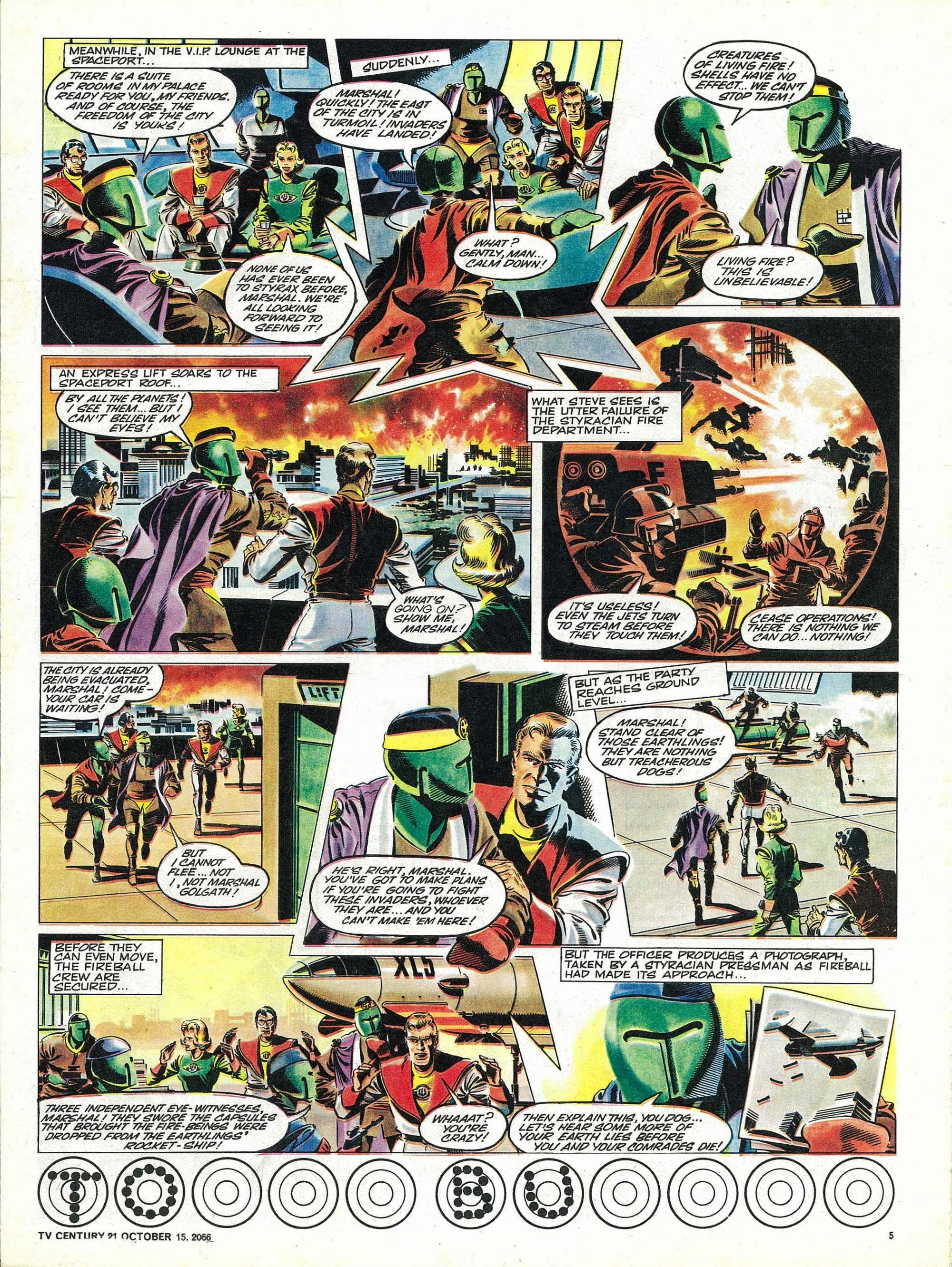 Read online TV Century 21 (TV 21) comic -  Issue #91 - 5