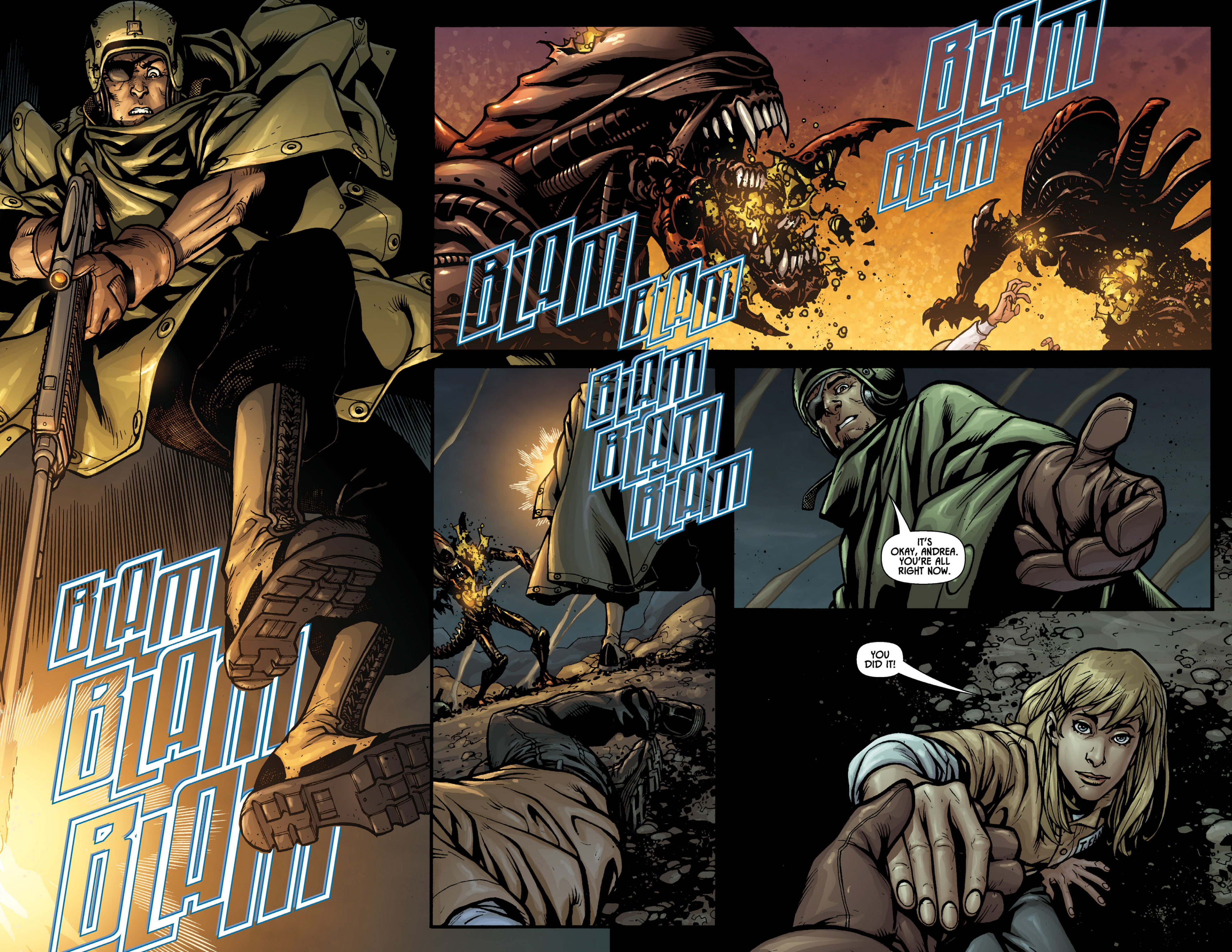 Read online Aliens (2009) comic -  Issue # TPB - 74