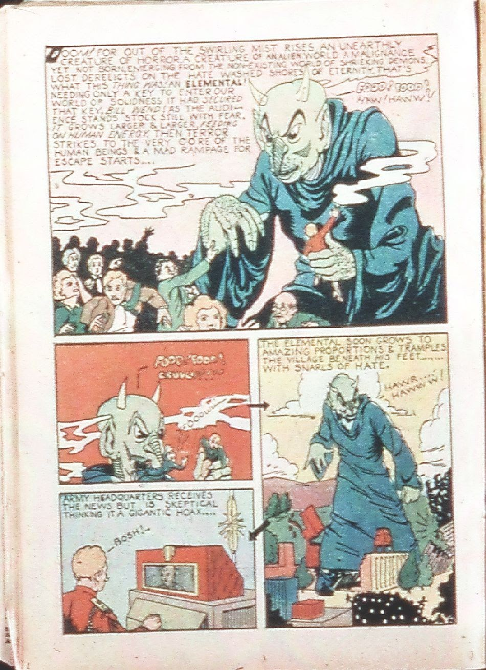 Read online Amazing Man Comics comic -  Issue #9 - 31